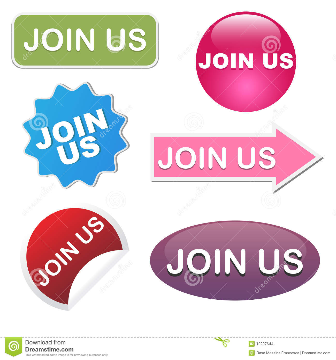 Join us icons
