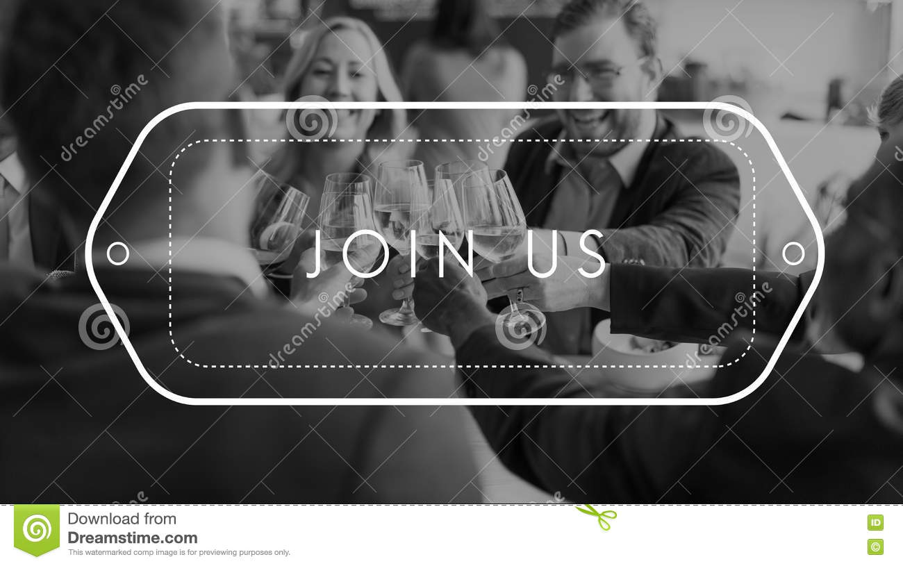 Join Us Register Membership Recruitment Human Resources Concept