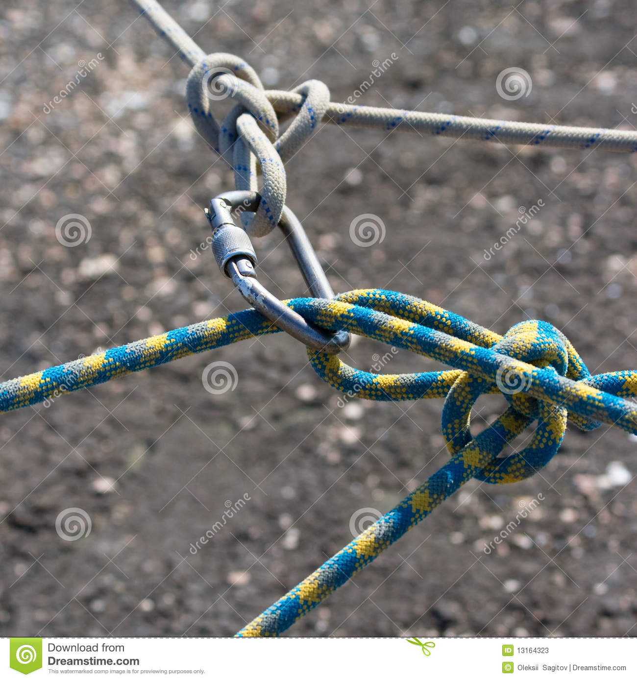 how to connect two ropes