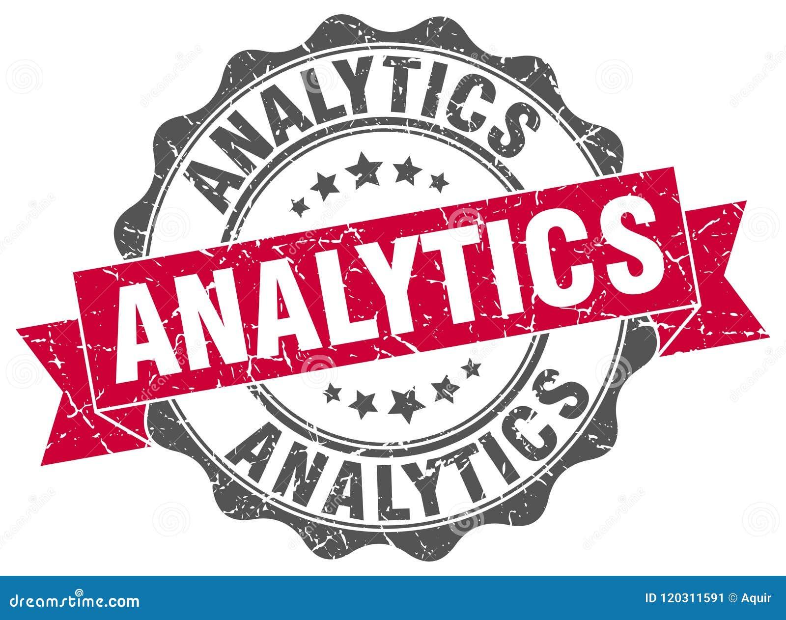 Joint d analytics estampille