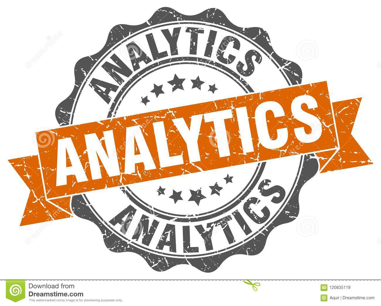 Joint d analytics estampille