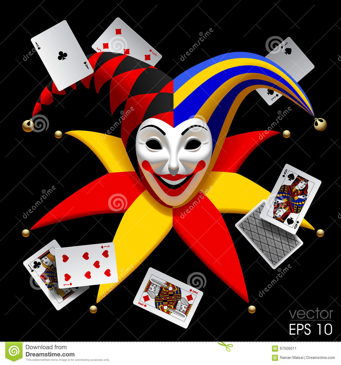 Dream clown poker