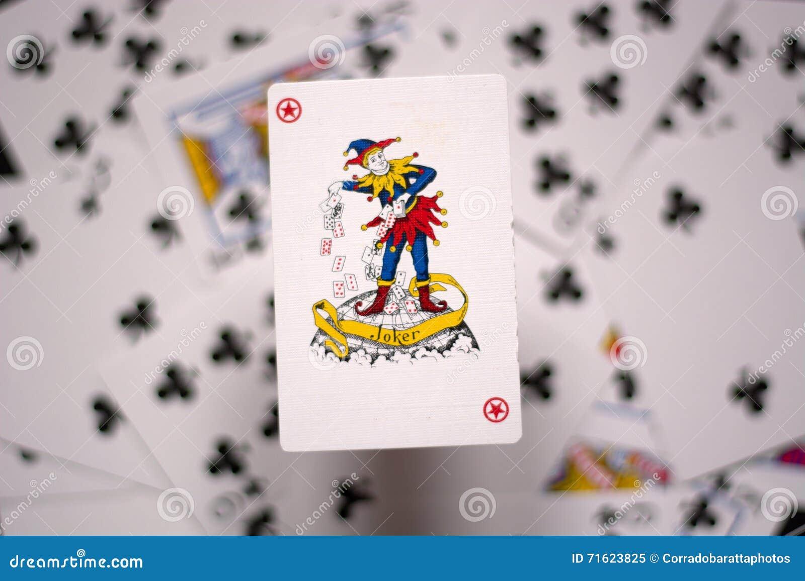 joker card stock photos - royalty free stock images