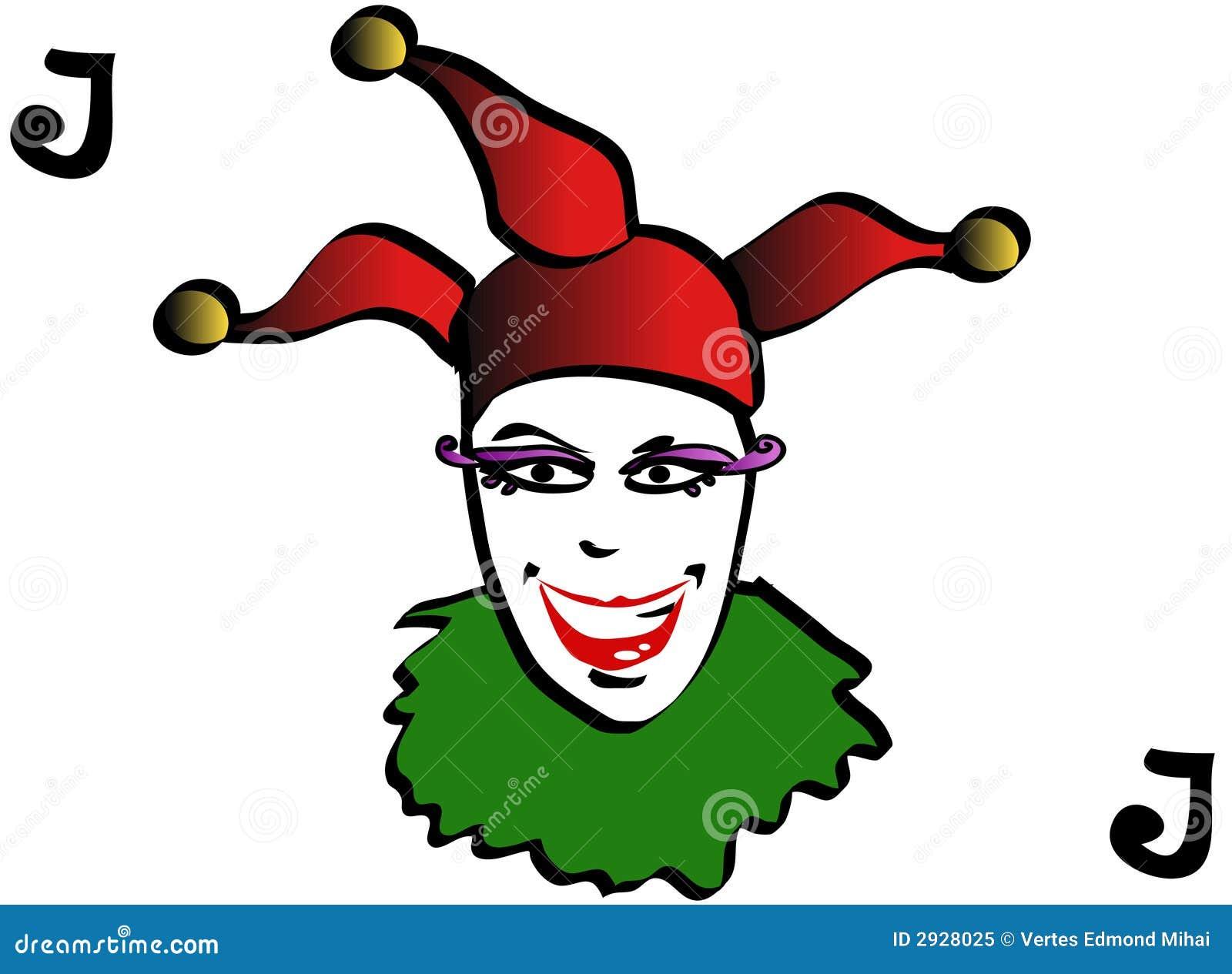 joker playing card royalty free stock photo image 2928025