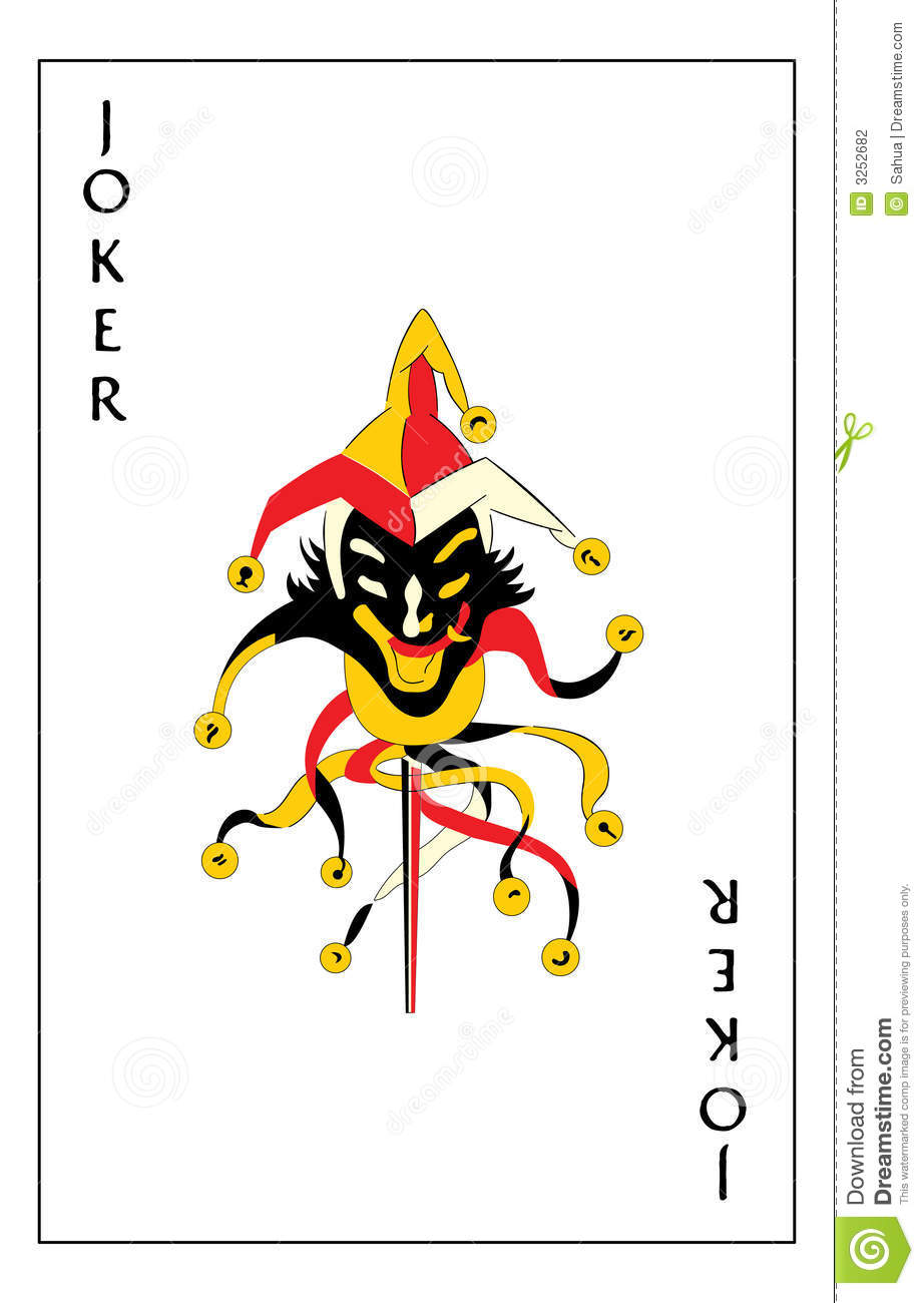 Joker Playing Card Stock Photography - Image: 3252682