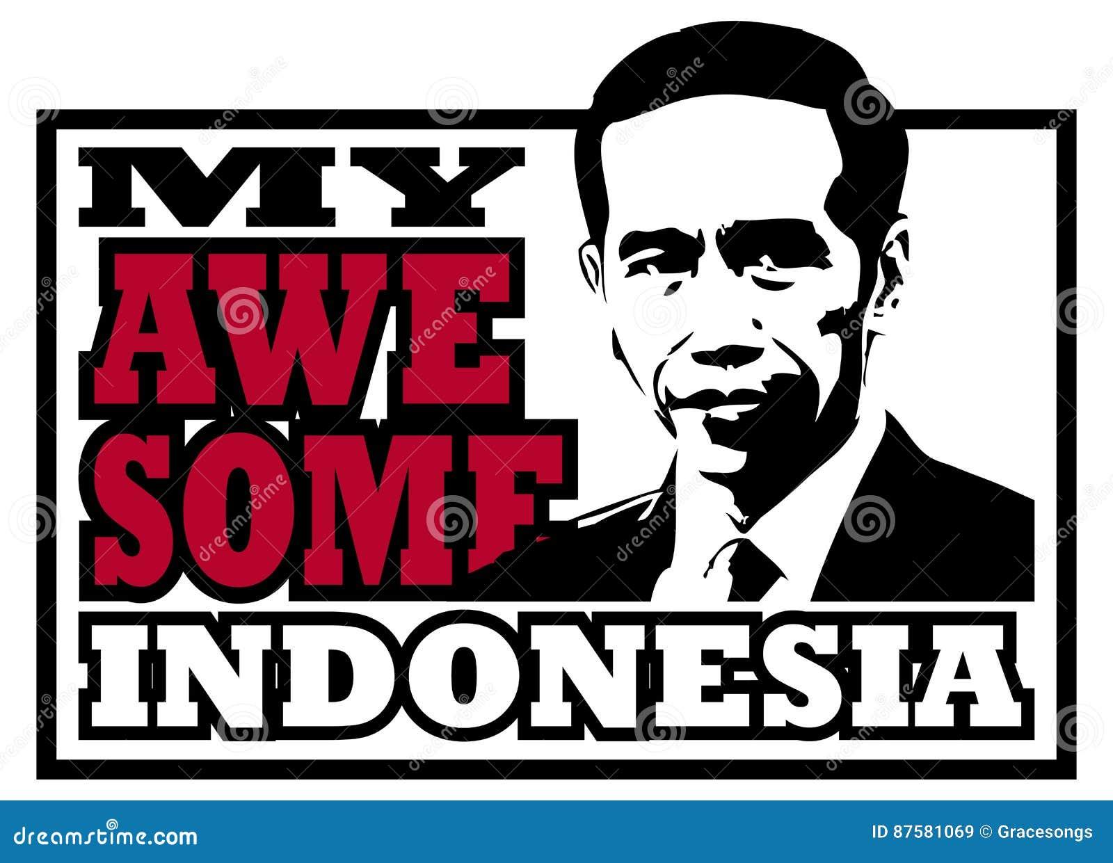 Jokowi Dodo, my awesome Indonesian president