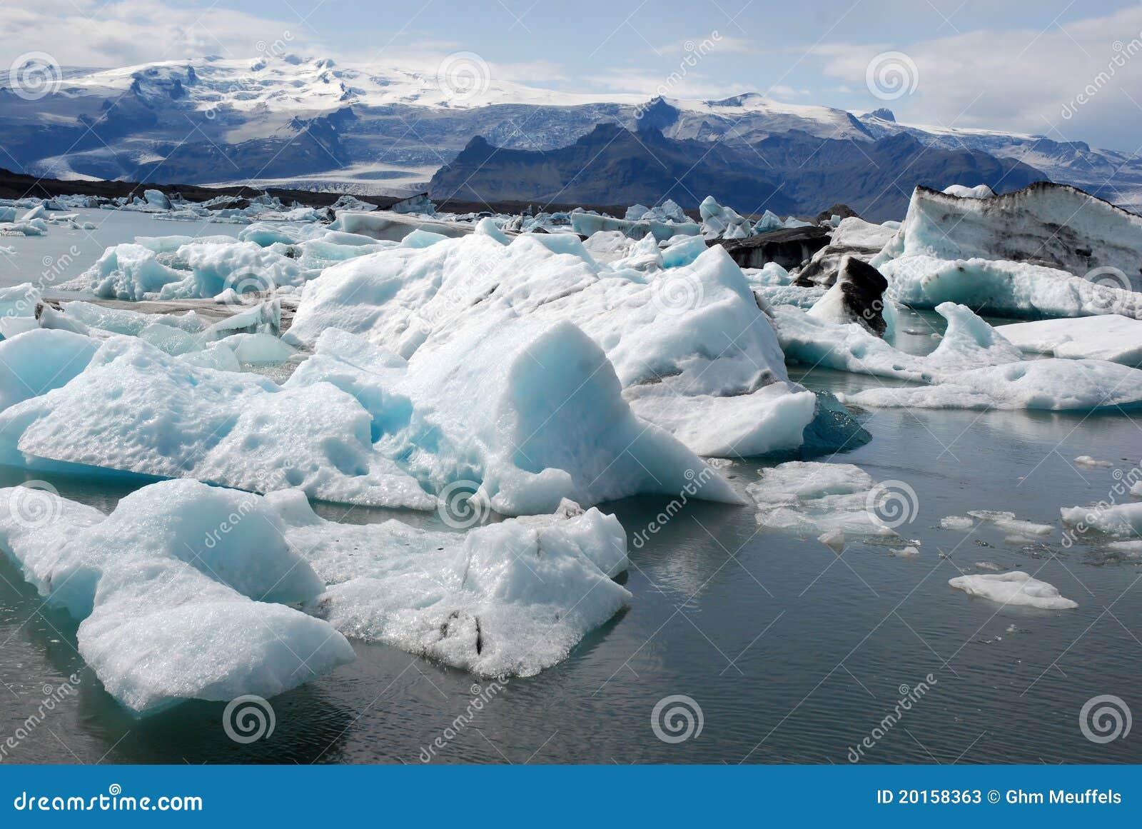 Jokulsarlon glacier and Glacier lagoon- Iceland