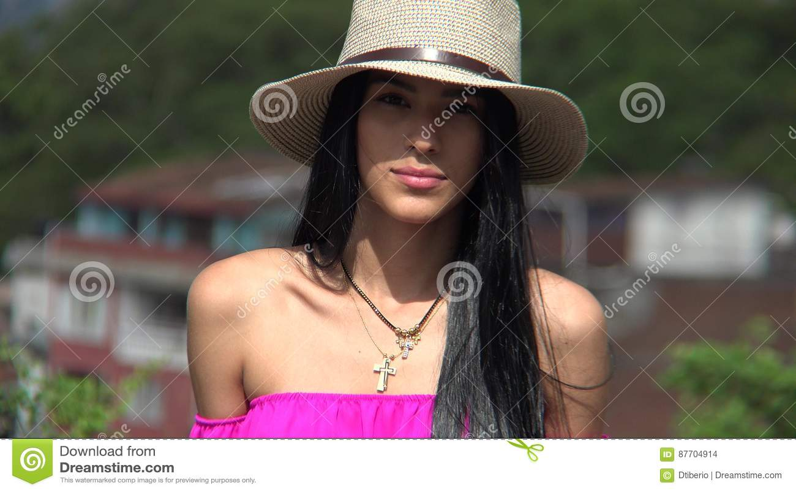 Joli Christian Female de l adolescence
