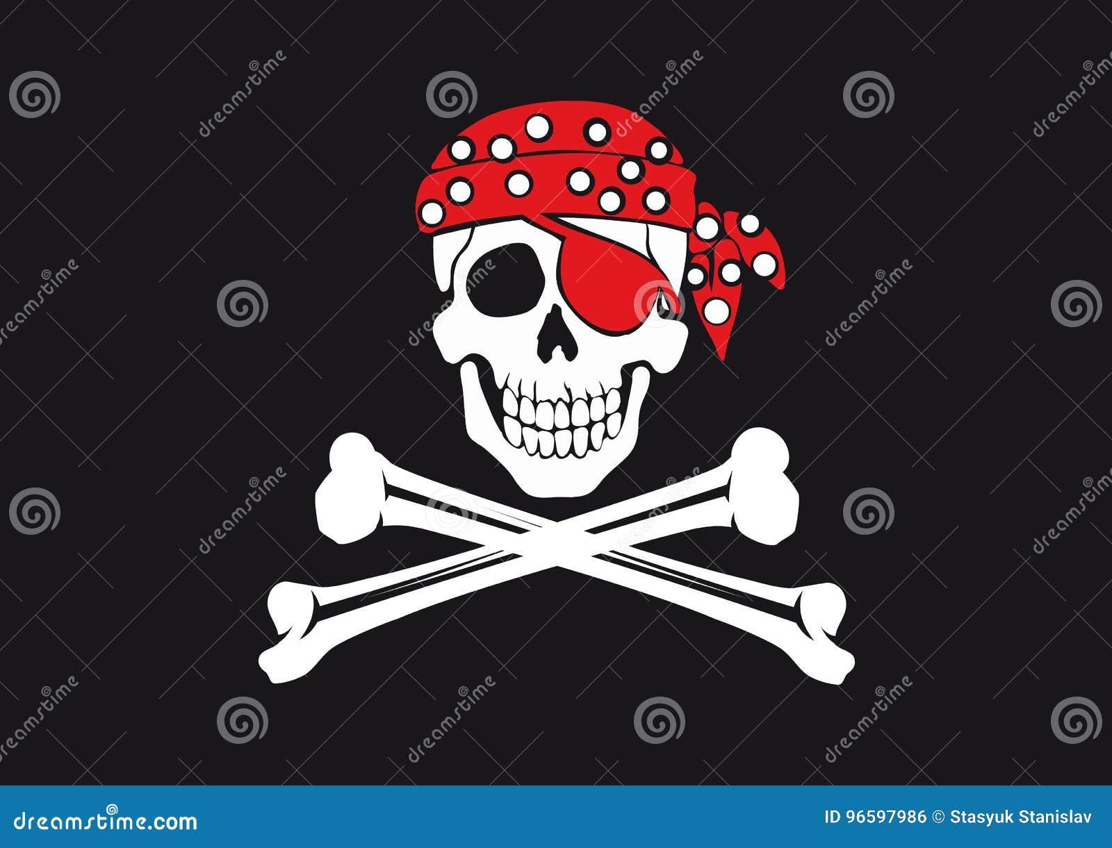 Jolly Roger bandery