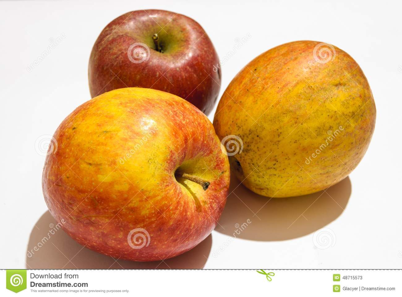 Download Jonathan apples stock image. Image of good, autumn, nature - 48715573