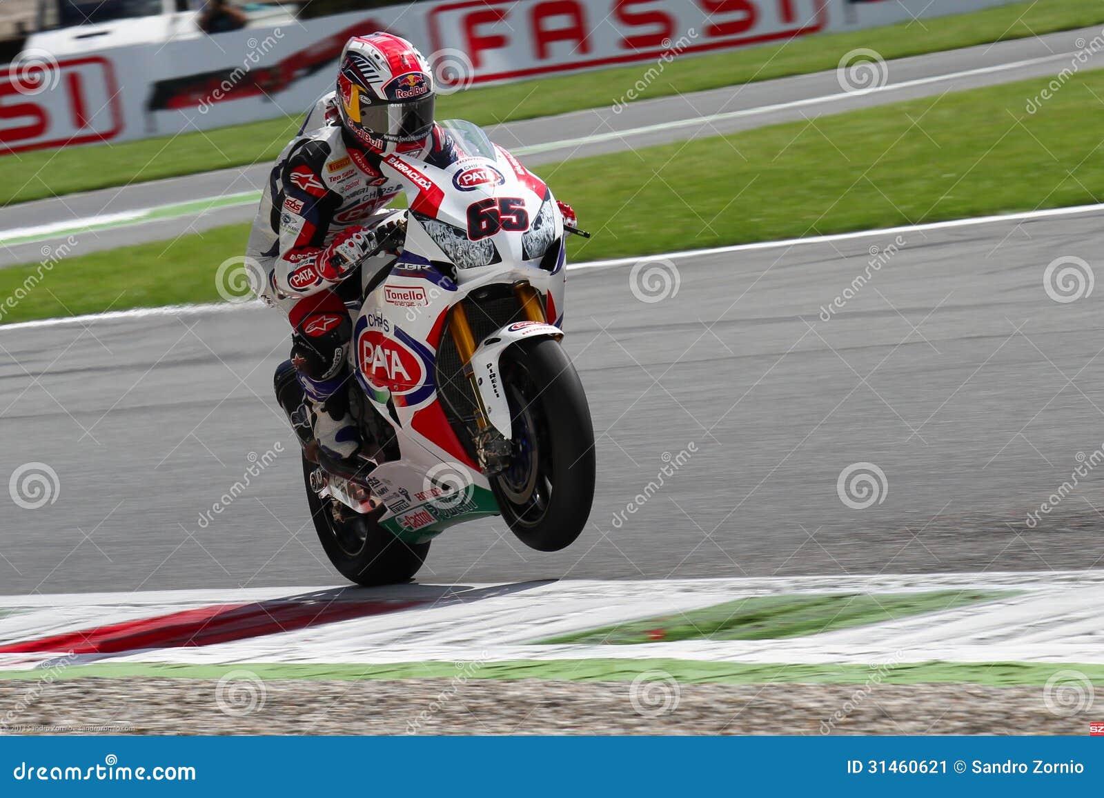 Jonathan Rea #65 on Honda CBR1000RR with Pata Honda World Superbike Team Superbike WSBK