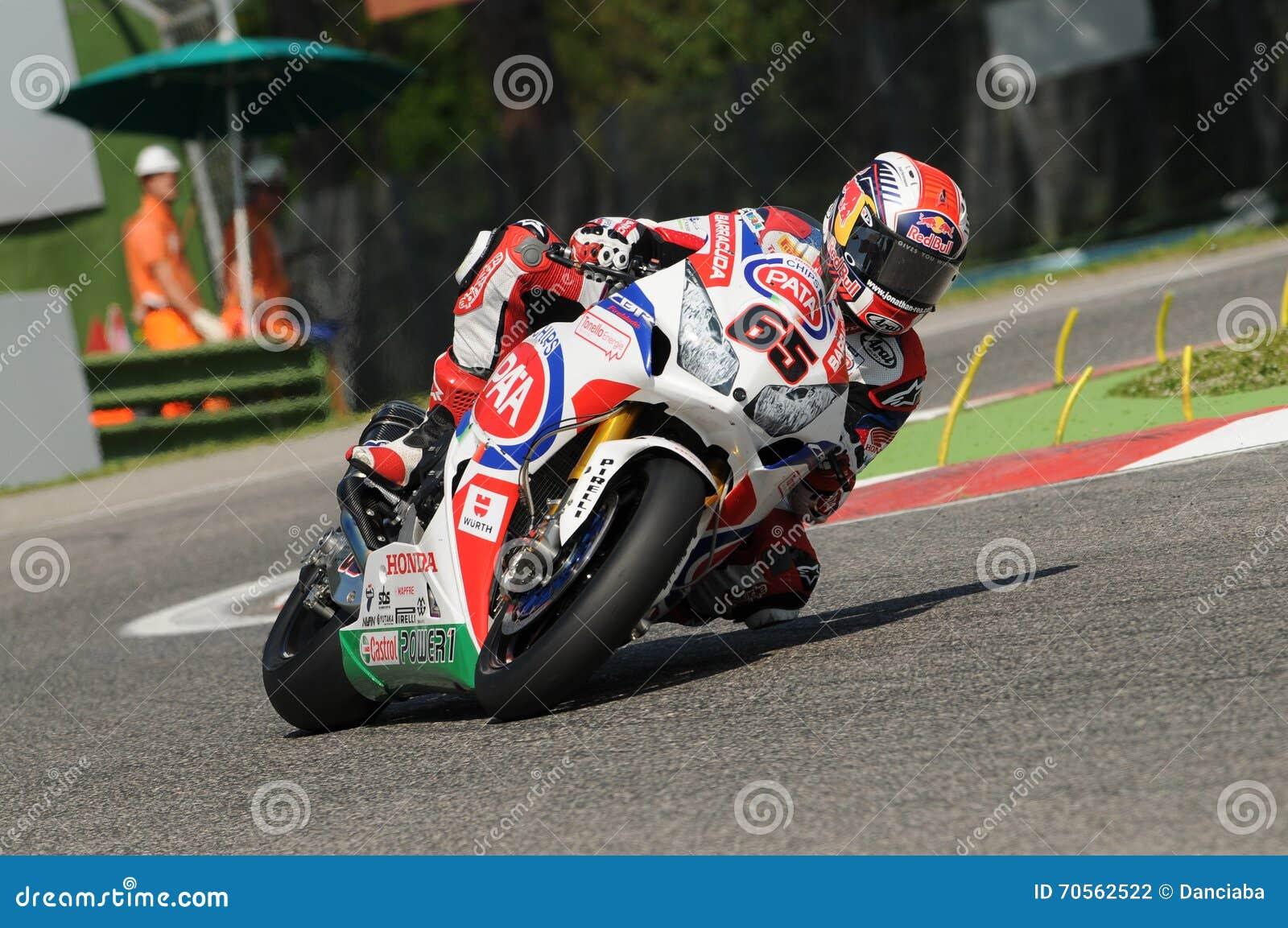 Jonathan Rea Honda CBR1000RR SBK PAT Honda Superbike Światowa drużyna Imola SBK 2014