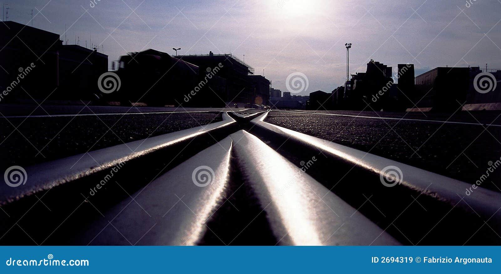 Jonction de chemin de fer
