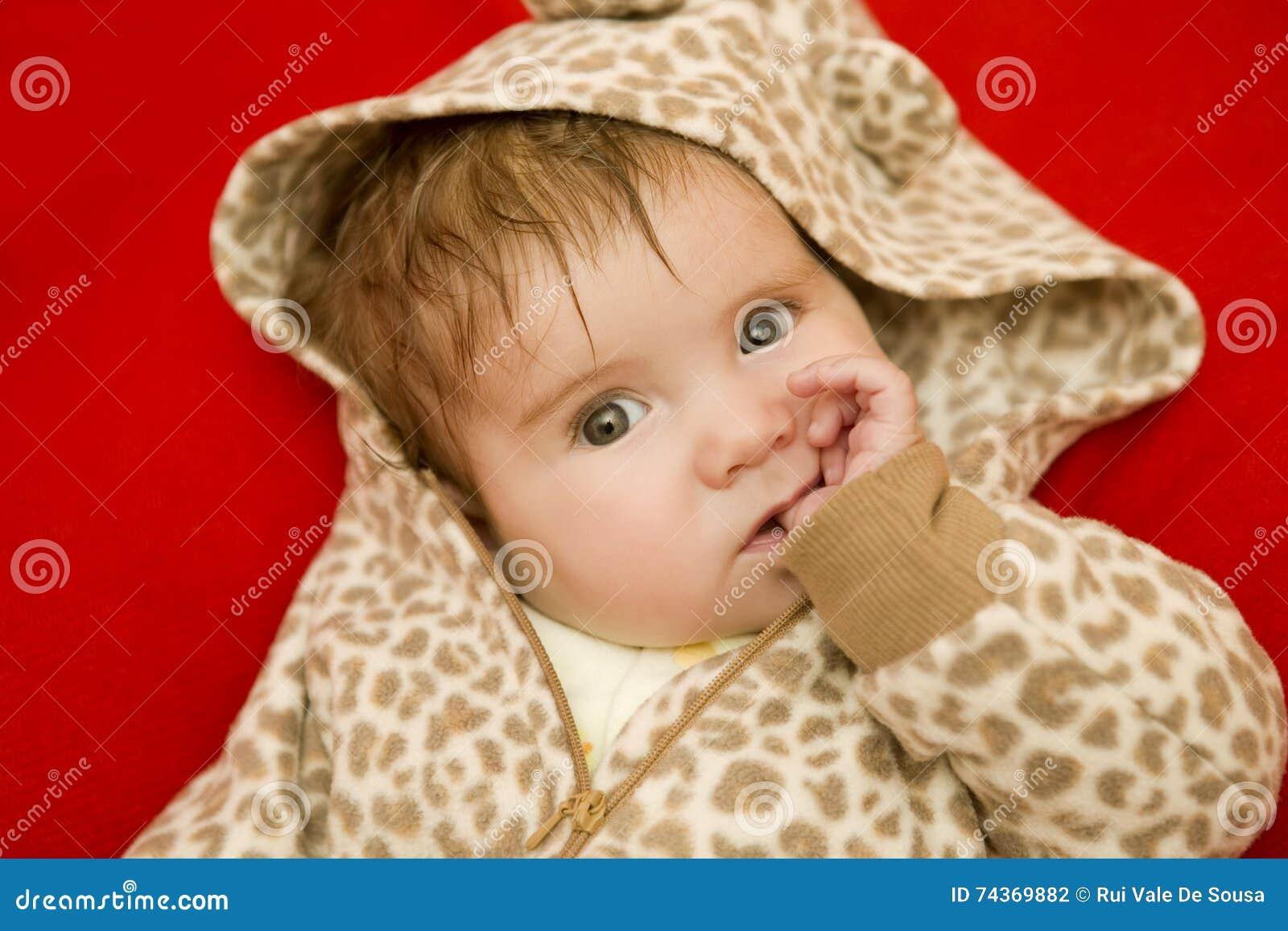 Jong babyportret