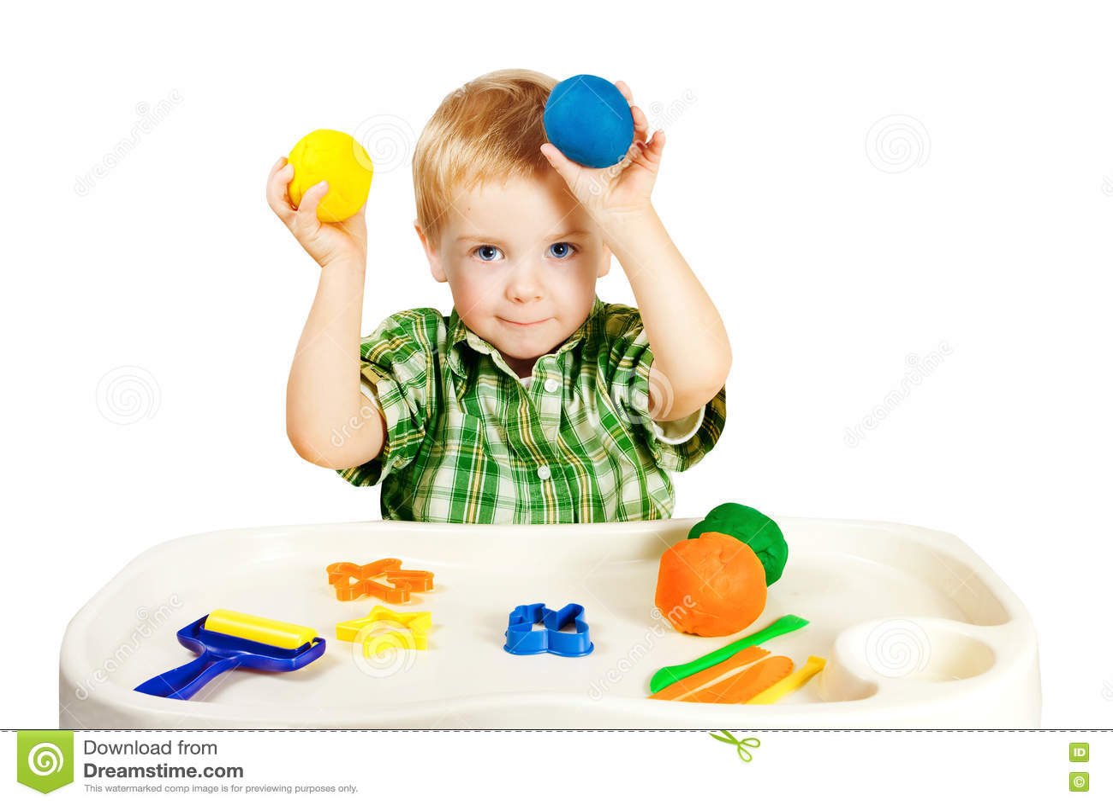 Jong geitje Speel Vormend Clay Toys, Weinig Kind Kleurrijke Plasticine