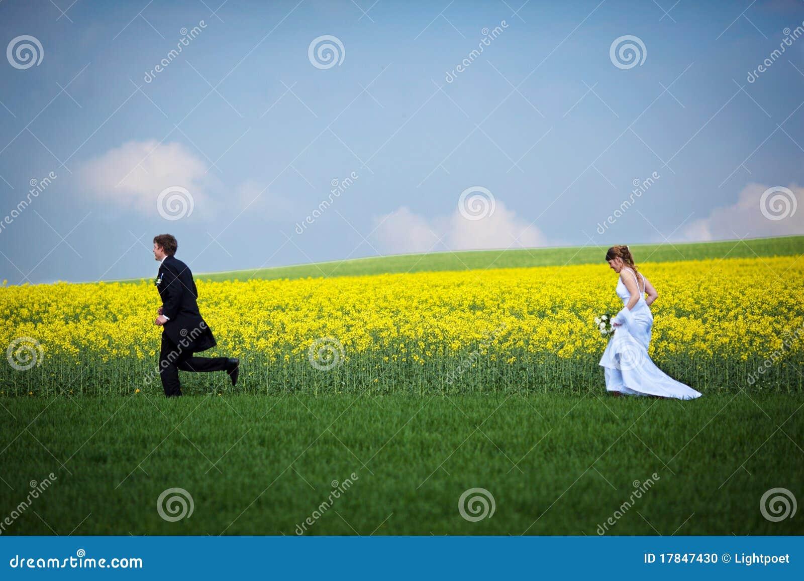 Jong huwelijkspaar