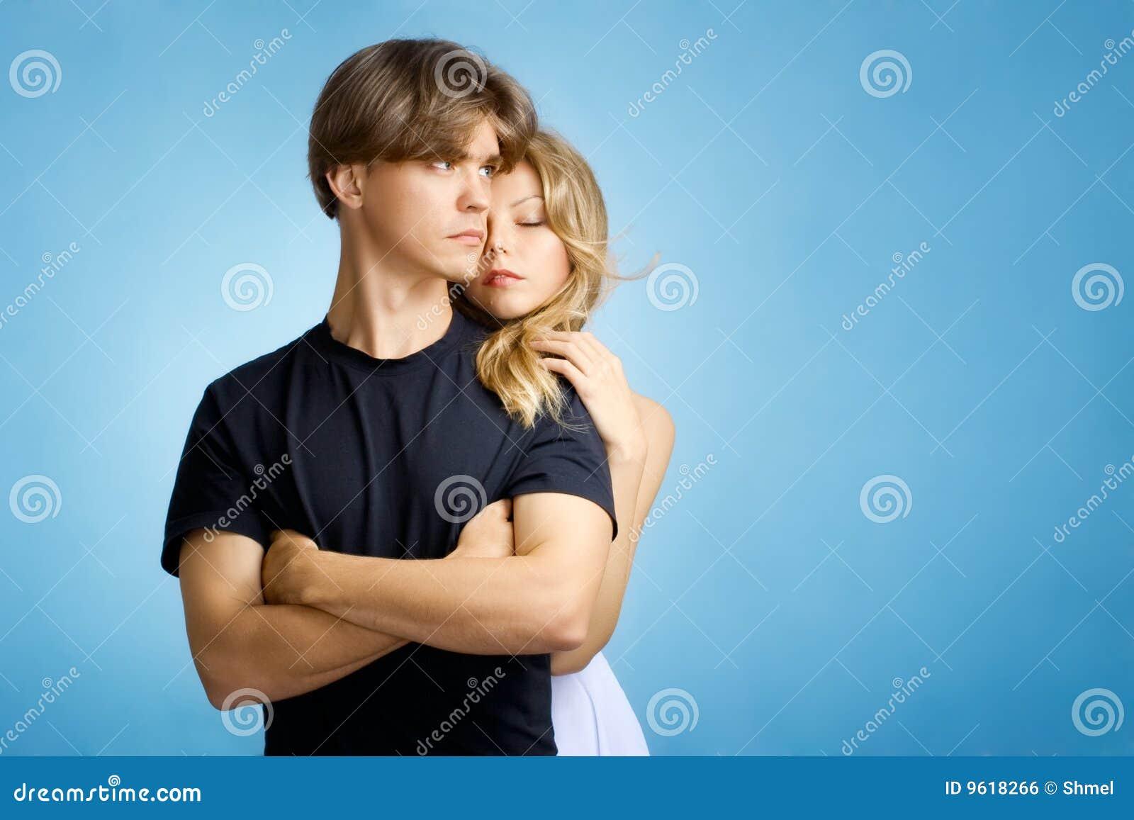 Jong volwassen paar