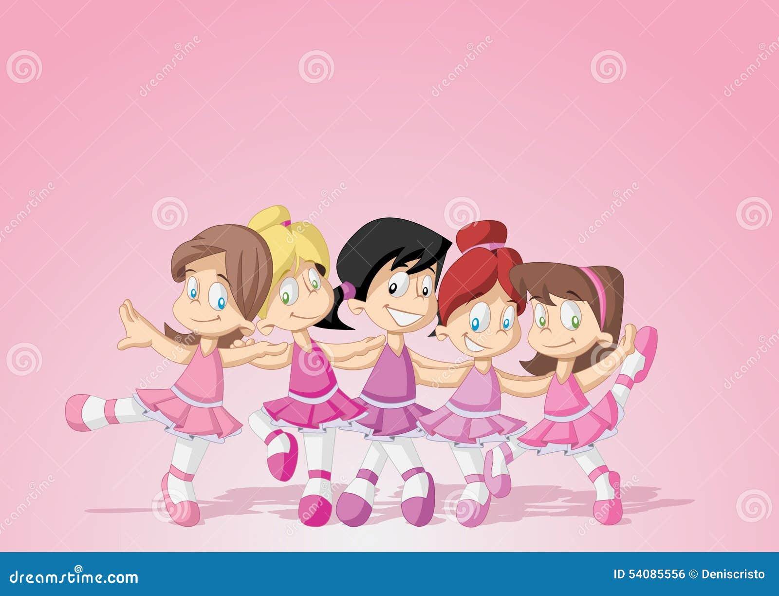 Jonge balletdansers
