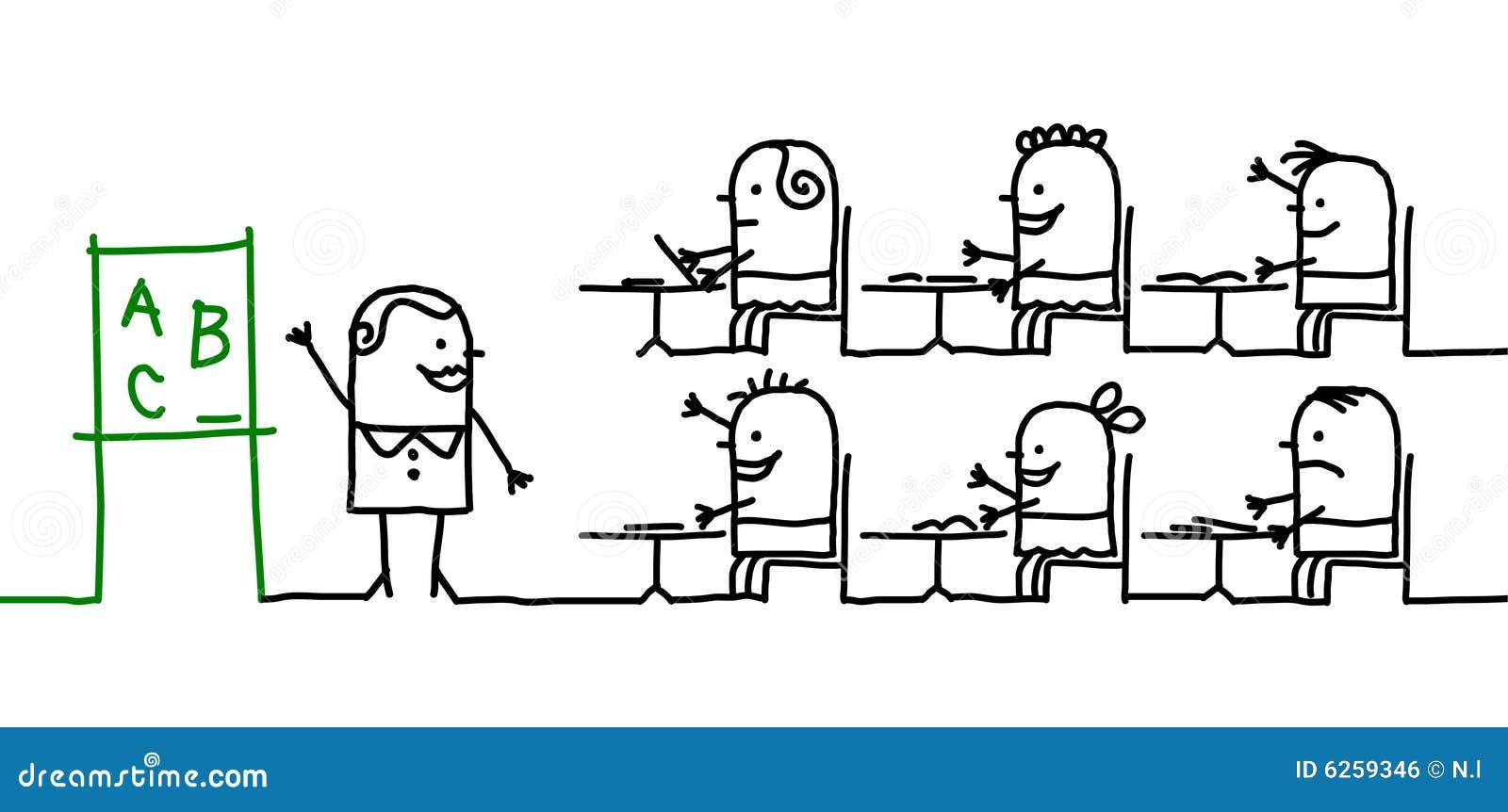Jonge geitjes & school
