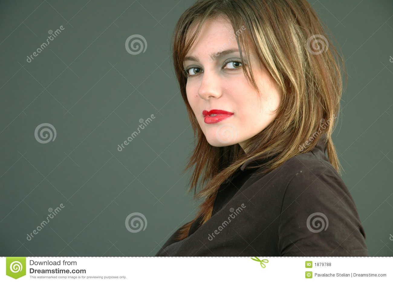 Jonge mooie vrouw.
