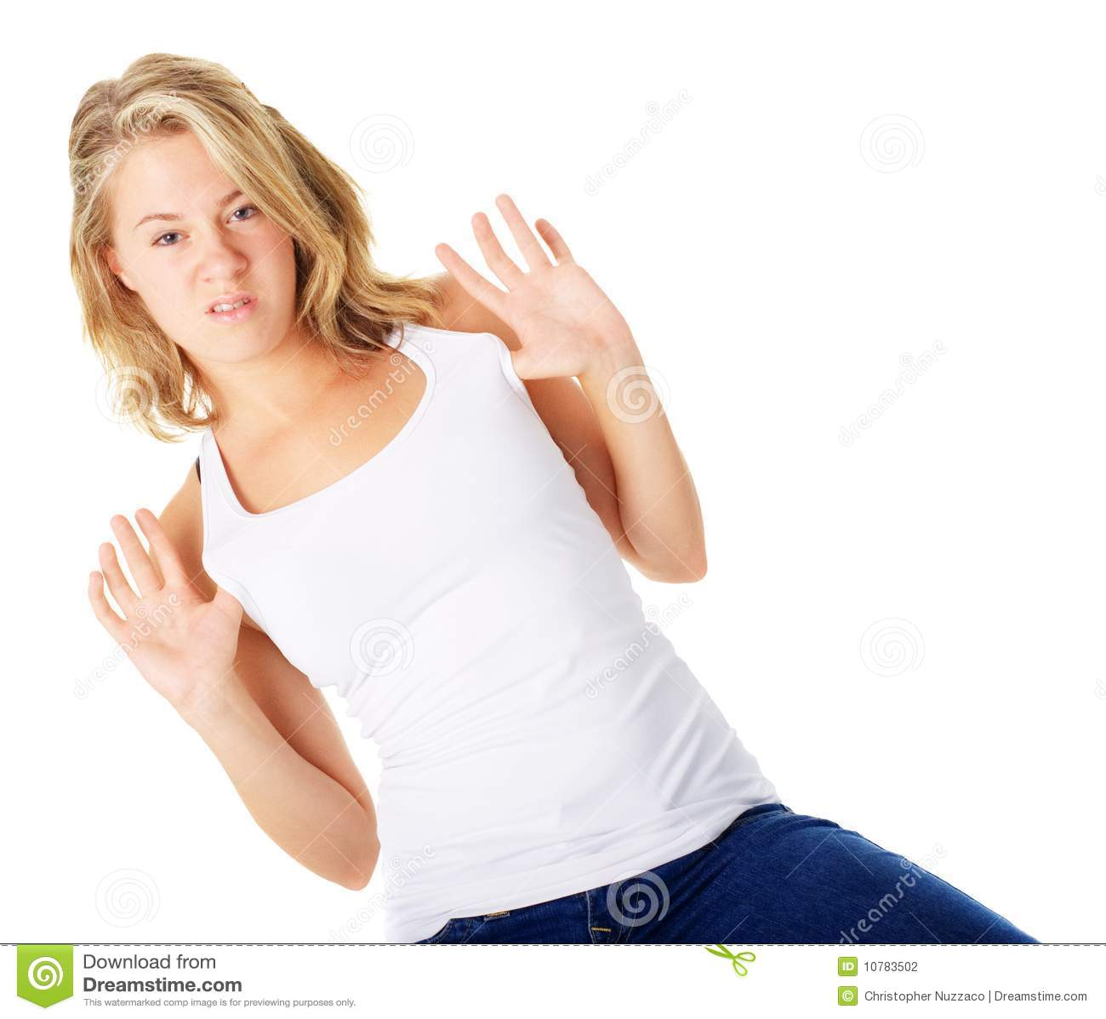 Jonge Vrouw met Houding