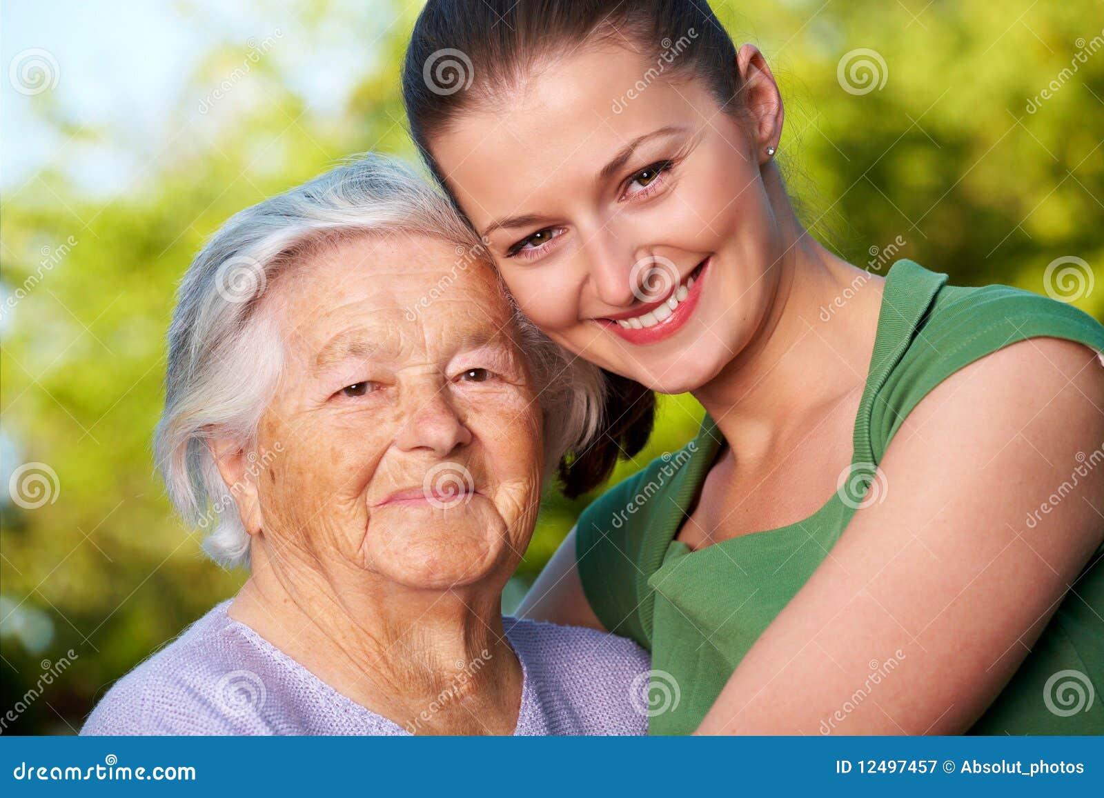 Jongelui en bejaarden