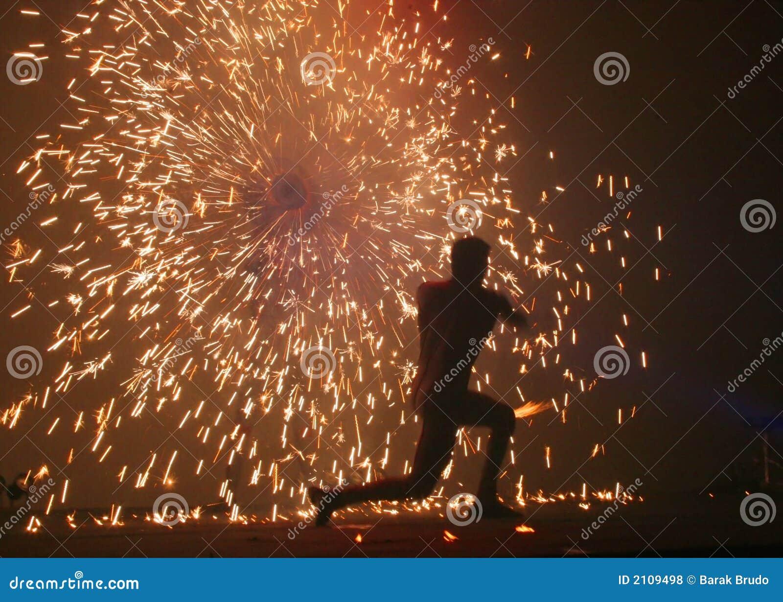 Jongleurs #3 d incendie