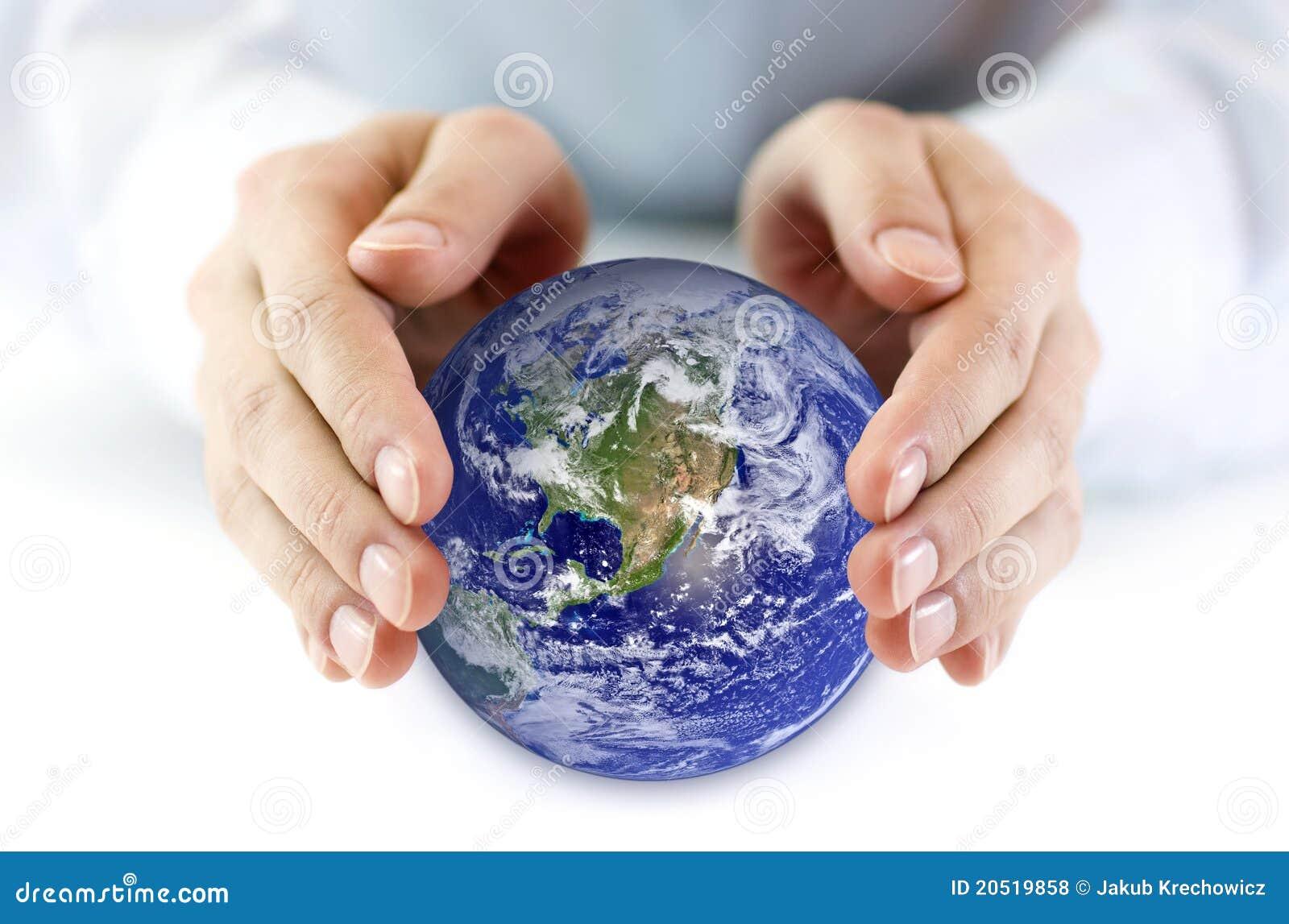 Jord skyddar