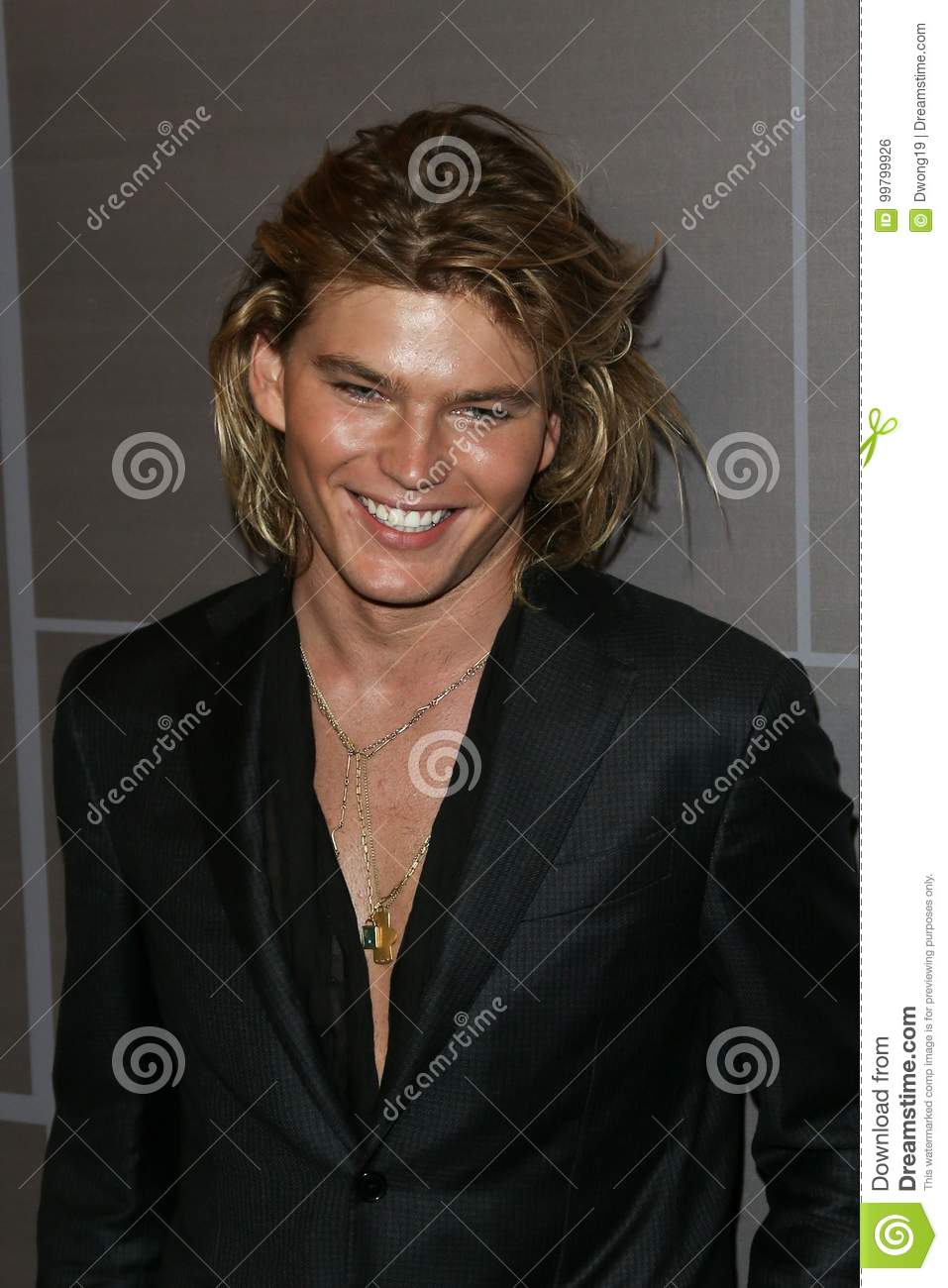 6981e58b Jordan Barrett editorial photo. Image of blonde, manhattan - 99799926