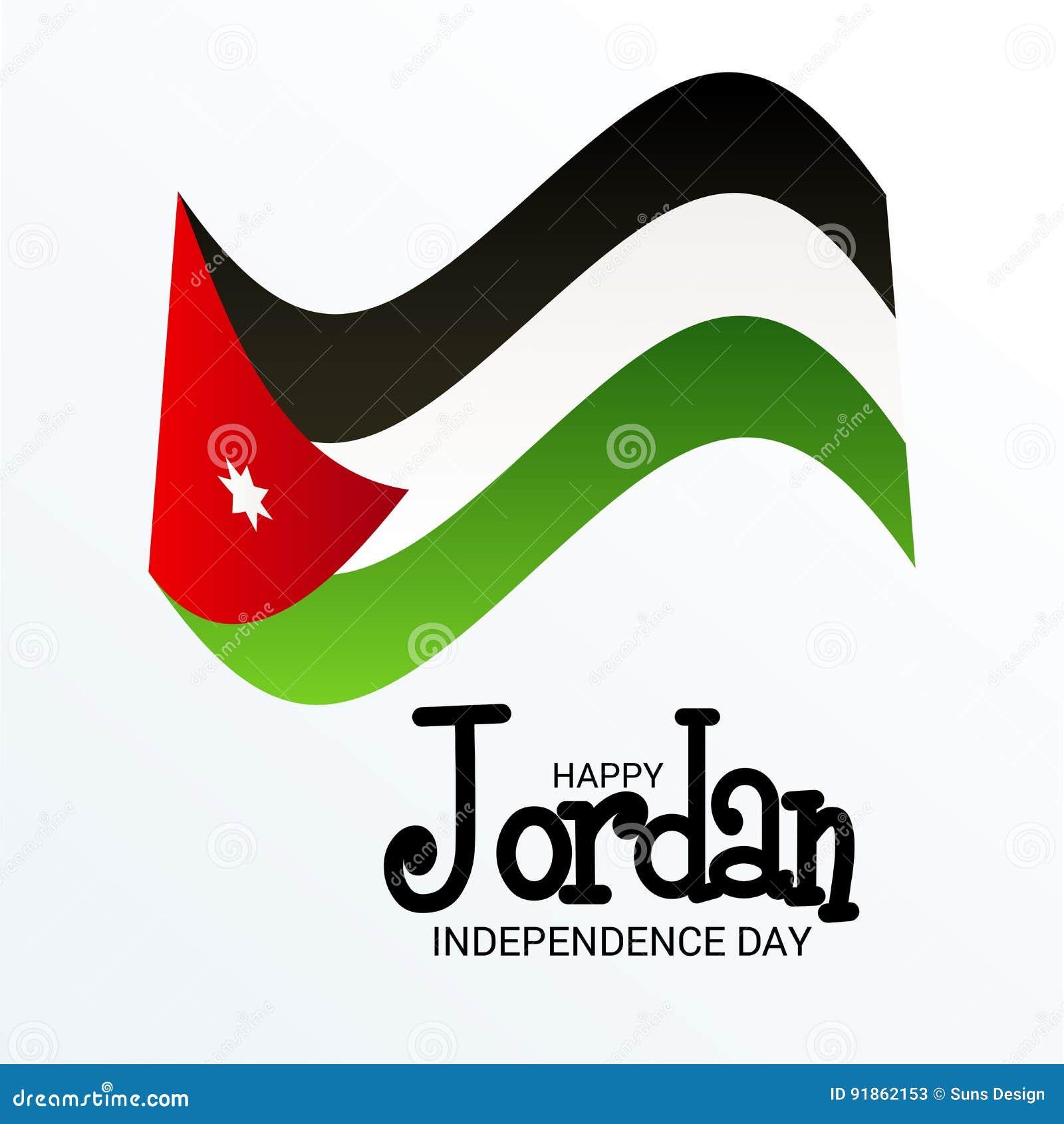 Jordan Independence Day Stock Illustration Illustration Of Travel