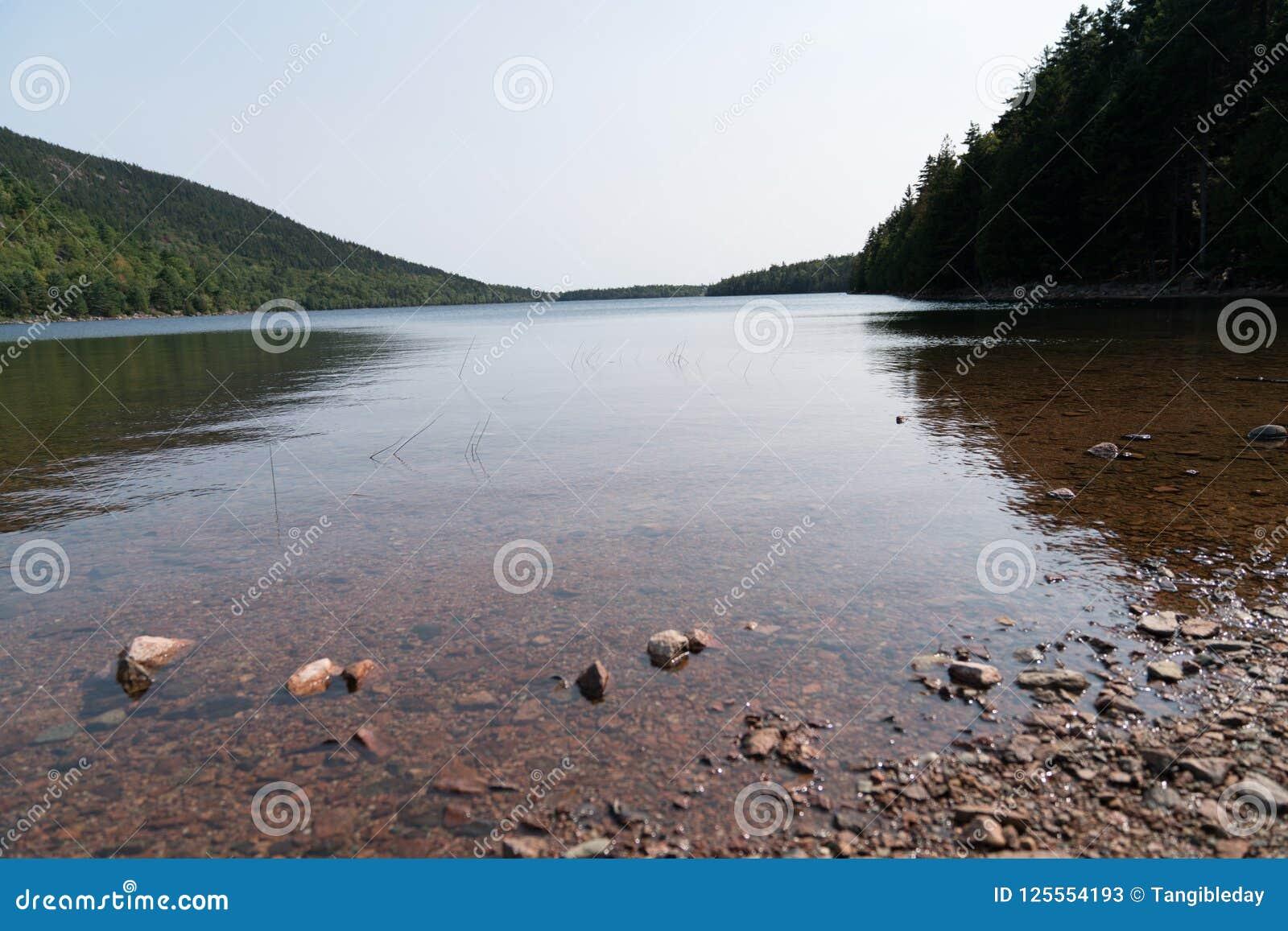 Jordan Pond am Acadia-Nationalpark