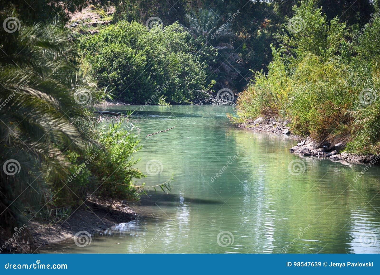 Jordan River, posto del battesimo