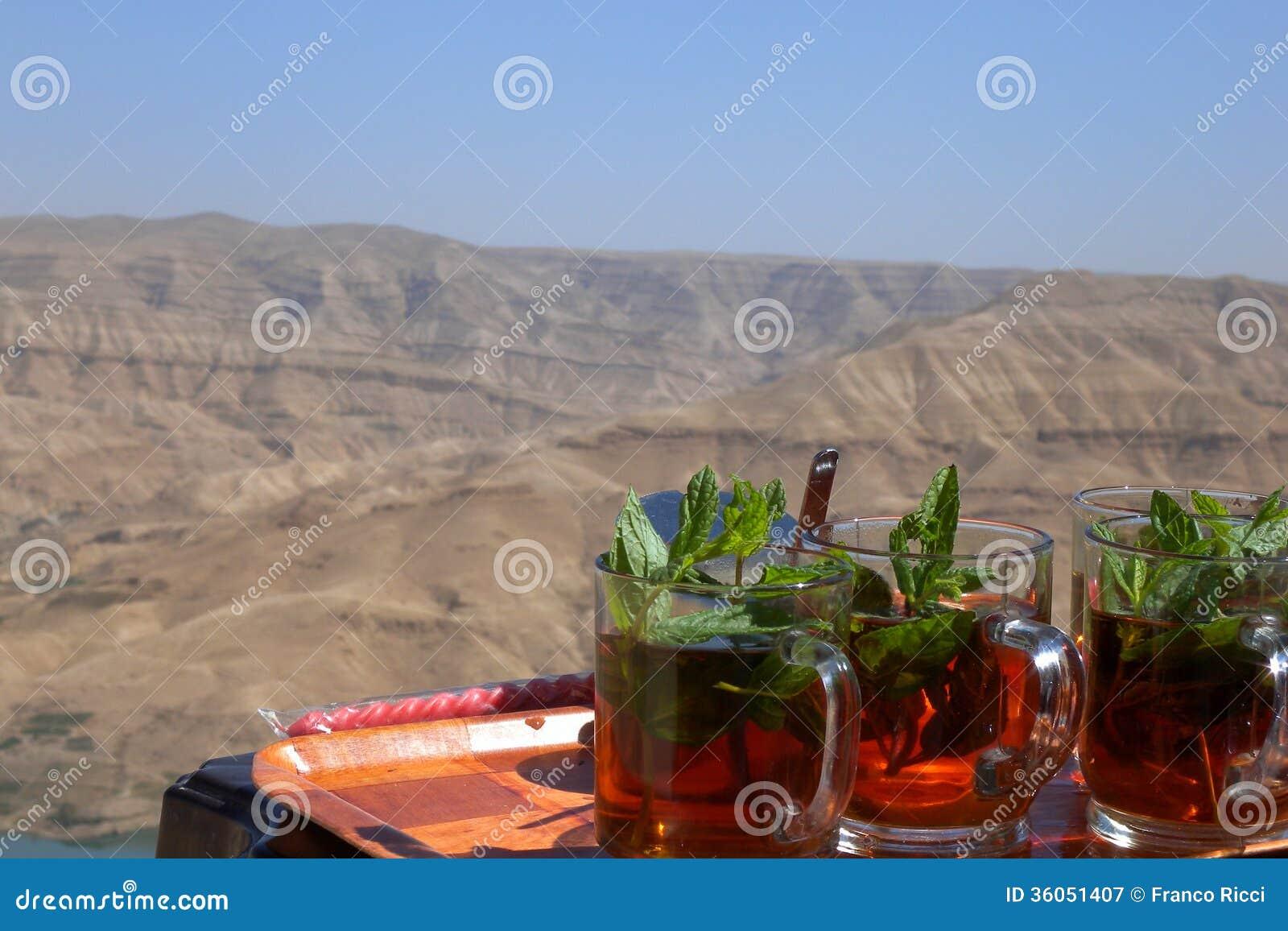 Jordanië - Thee in de woestijn