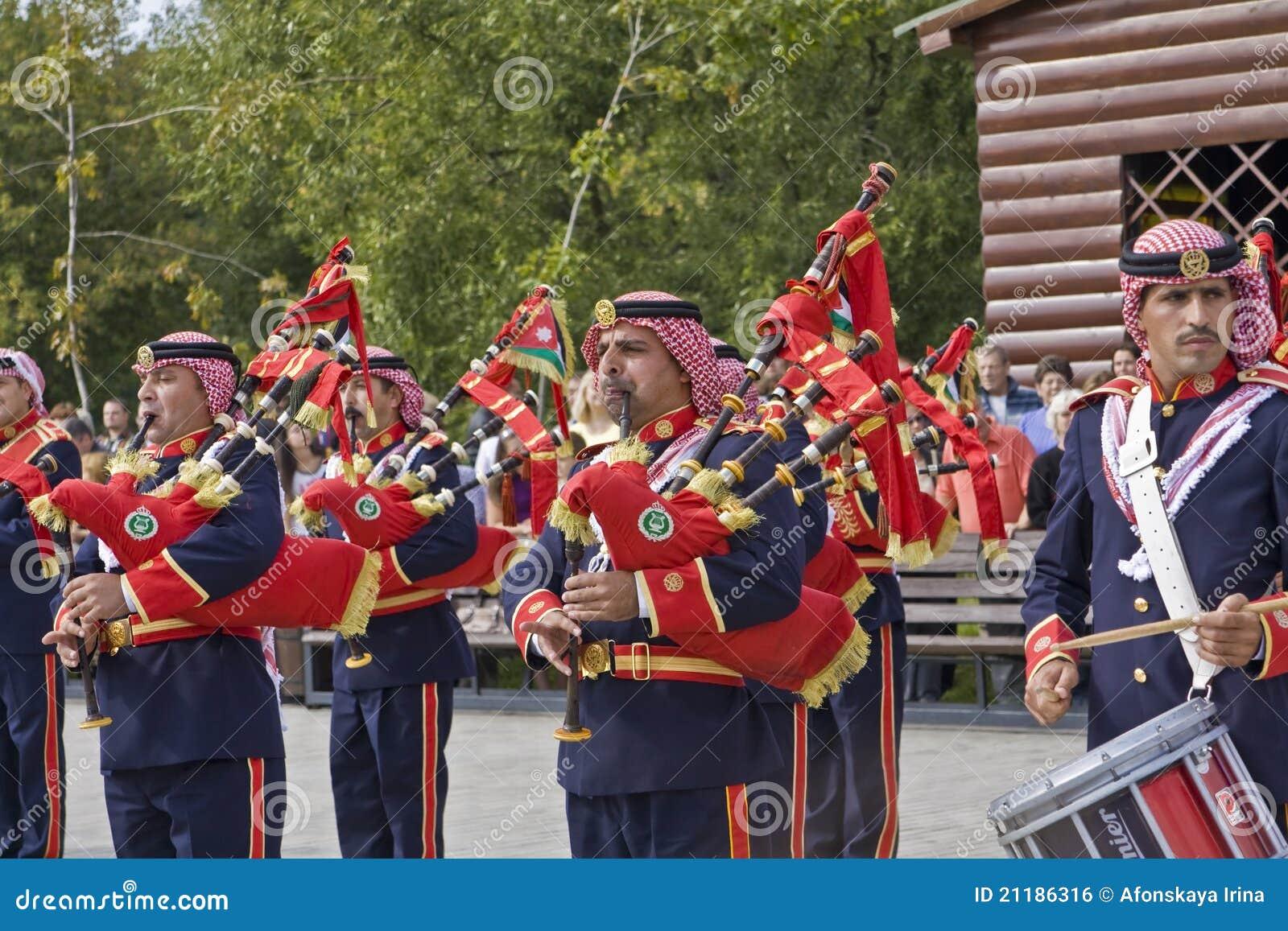 Jordanian military orchestra