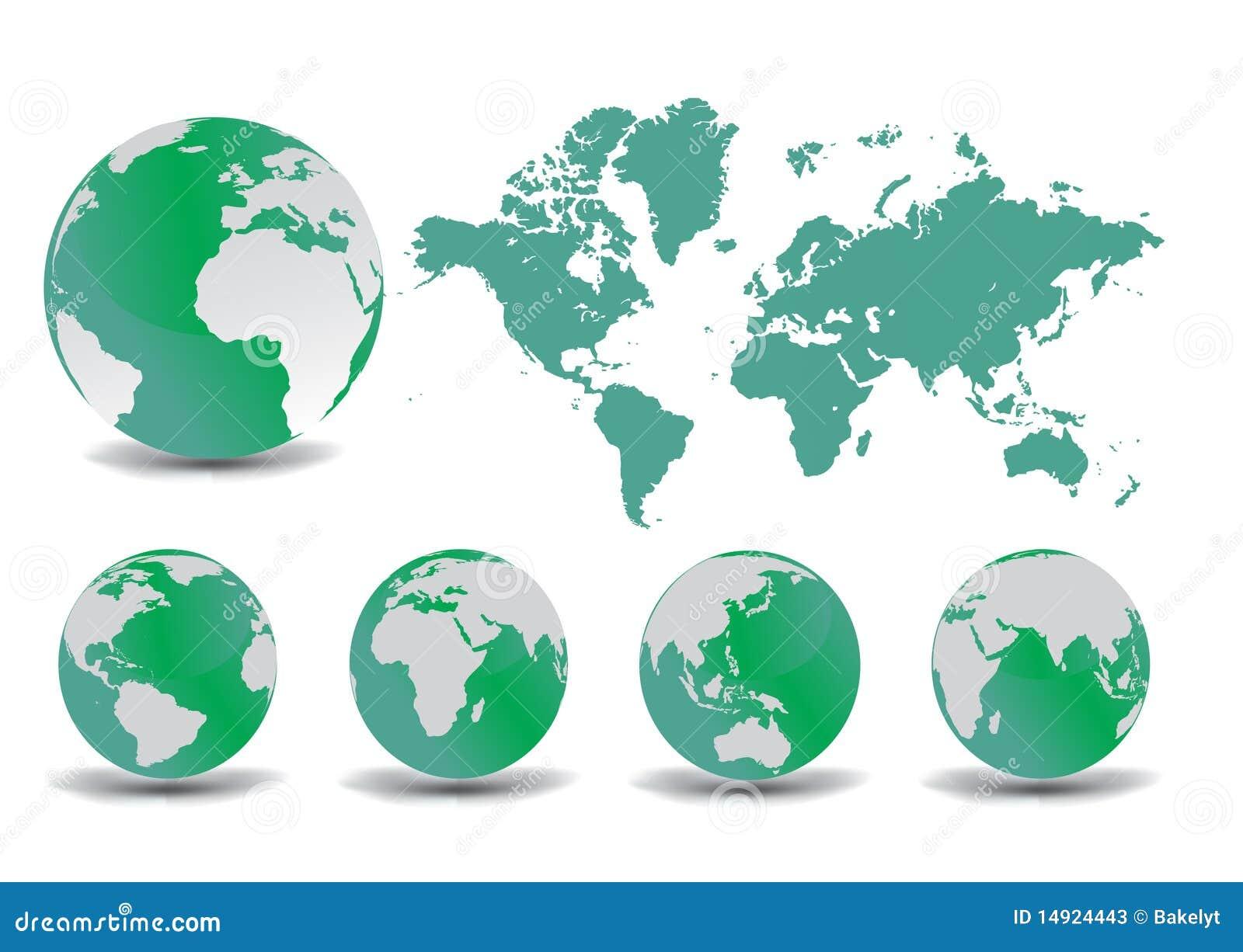 Jordjordklotöversikt