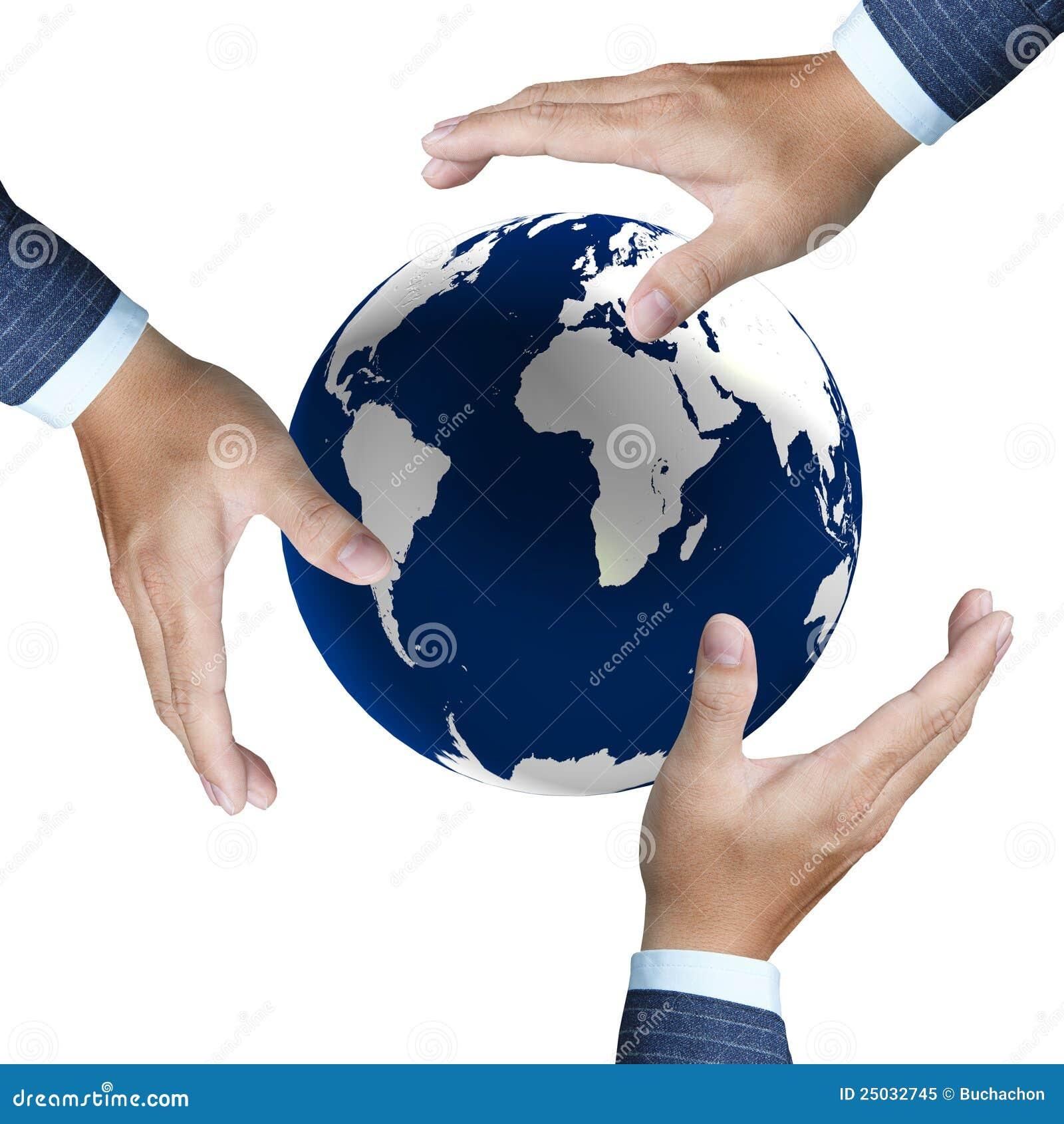 Jordjordklotet hands hans
