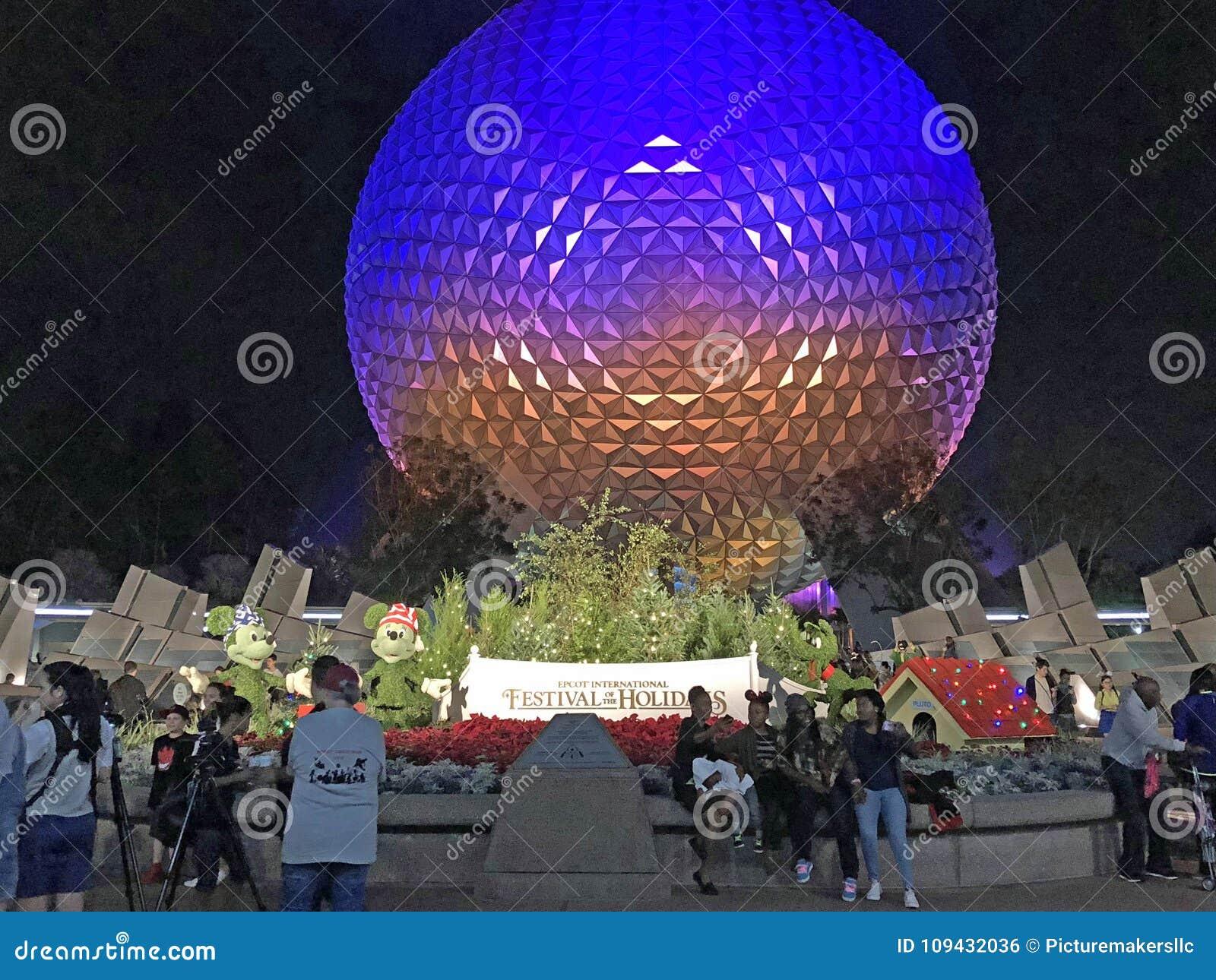 Jordklot Walt Disney World, Orlando, Florida