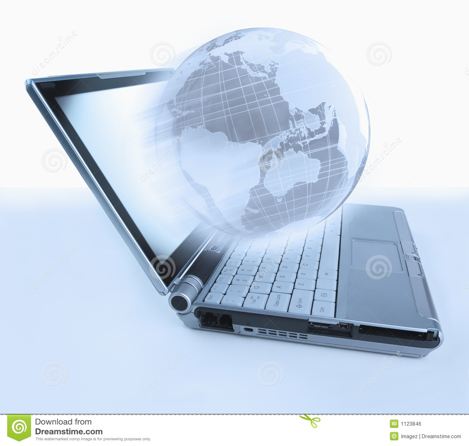 Jordklotbärbar dator