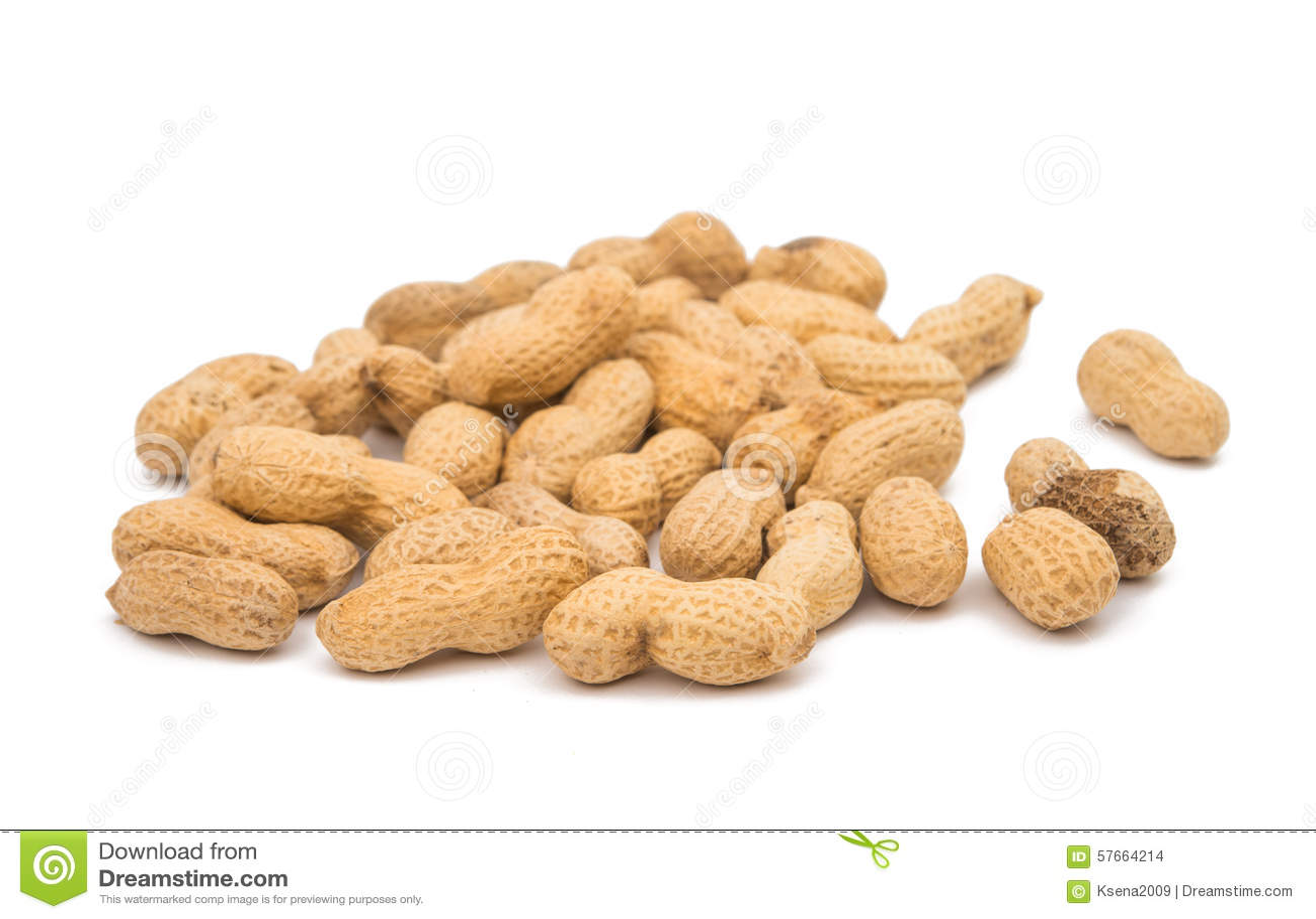 Jordnötter i skalet
