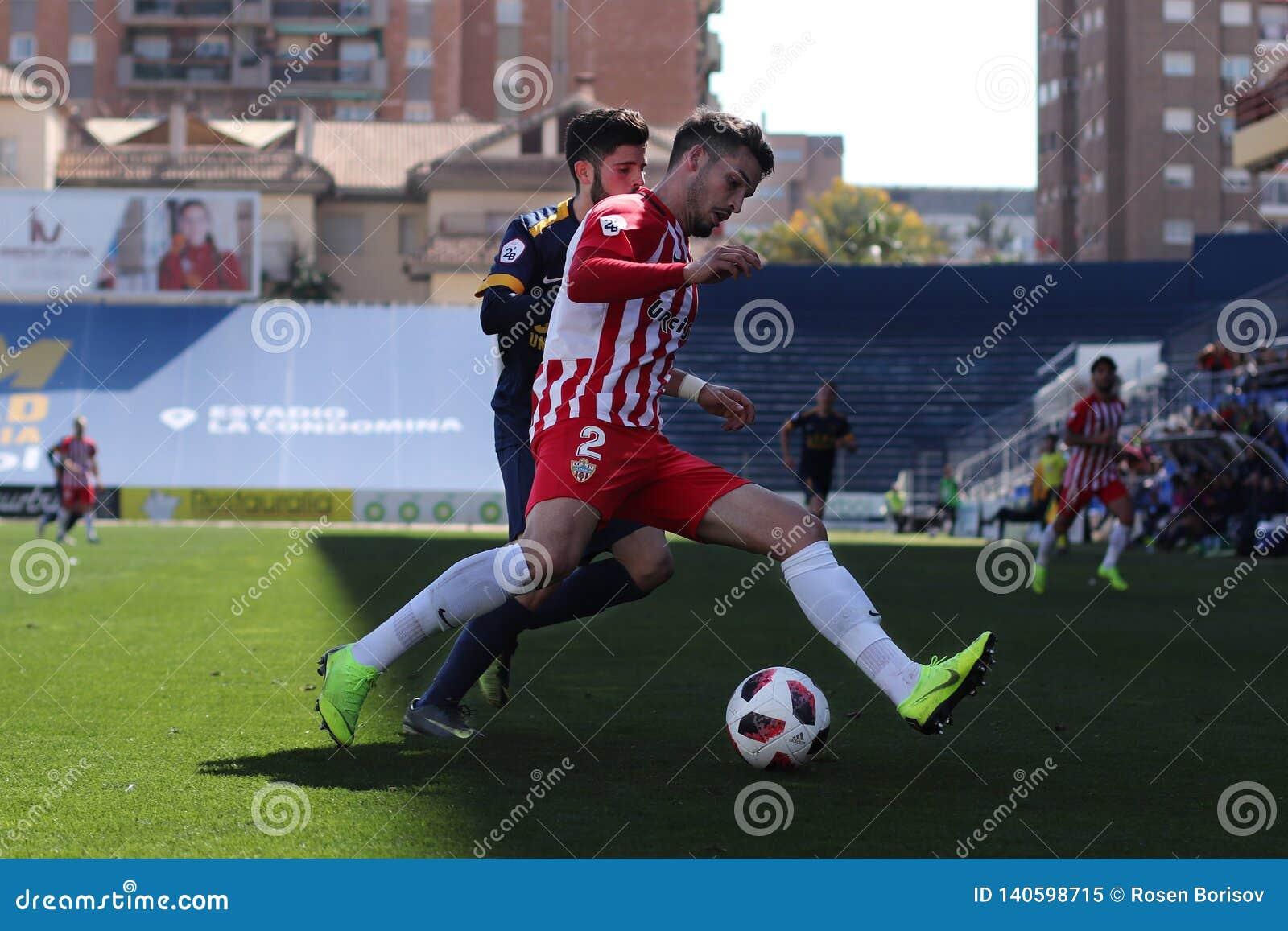 José Alonso UCAM Murcia C f und AlmerÃa B