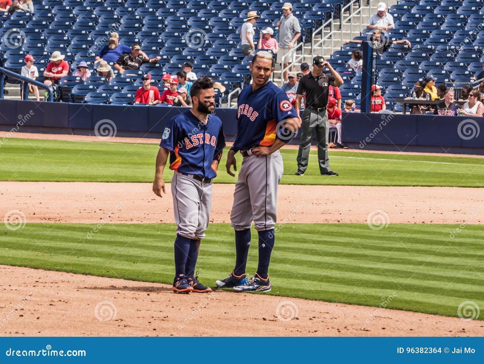 Jose Altuve Carlos Correa Houston Astros 2017