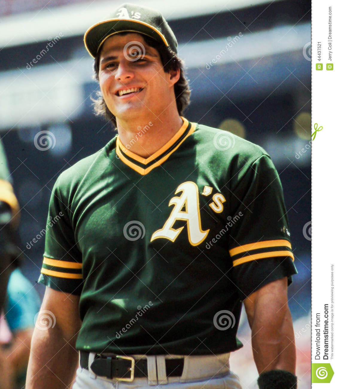 buy popular 72ae3 43460 Jose Canseco, Oakland A's editorial photo. Image of canseco ...