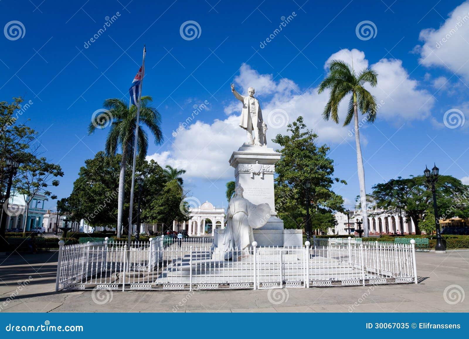Jose Marti park, Cienfuegos, Kuba
