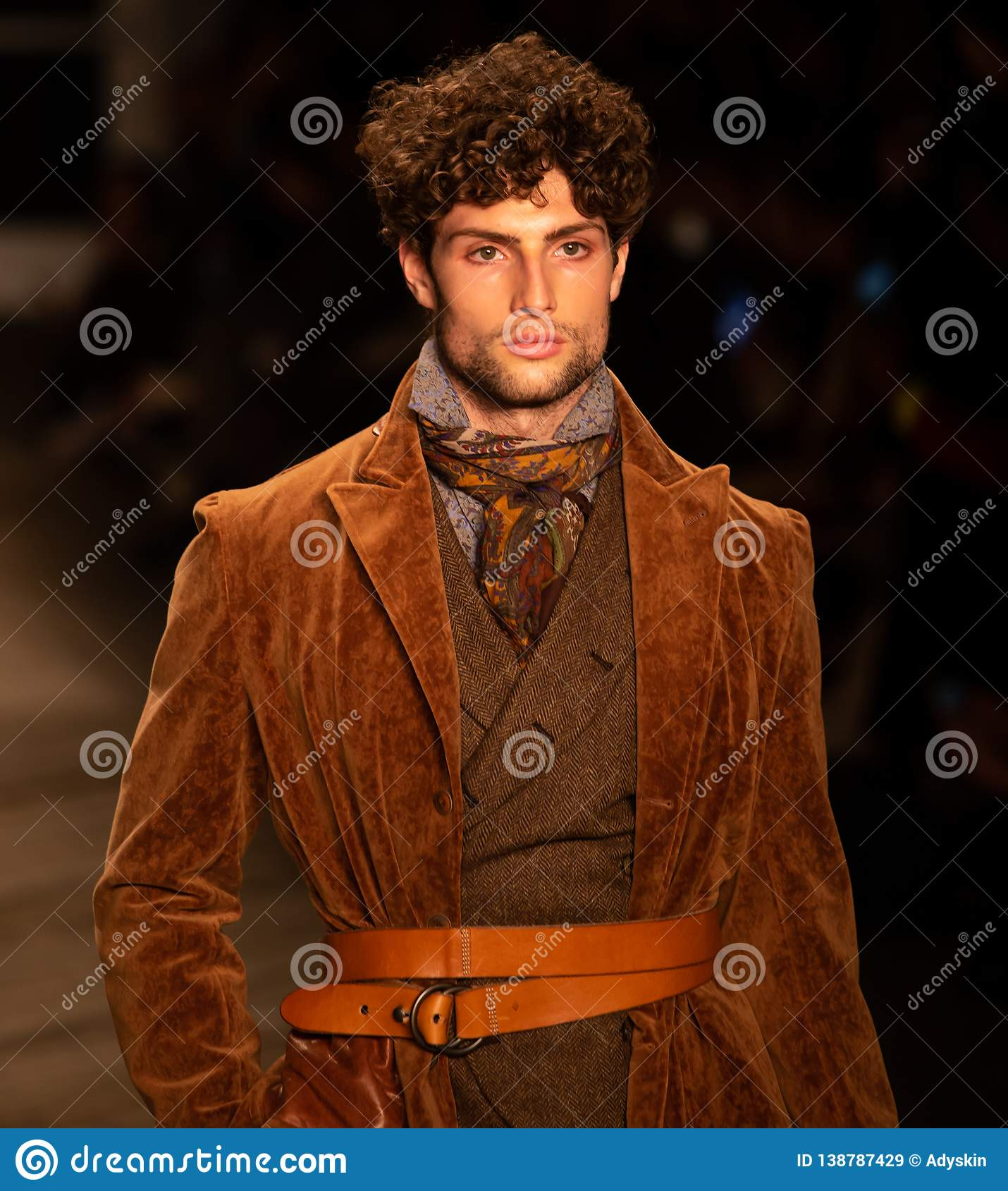 Joseph Abboud Mens Fall 2019 Fashion Show As Part Of New York