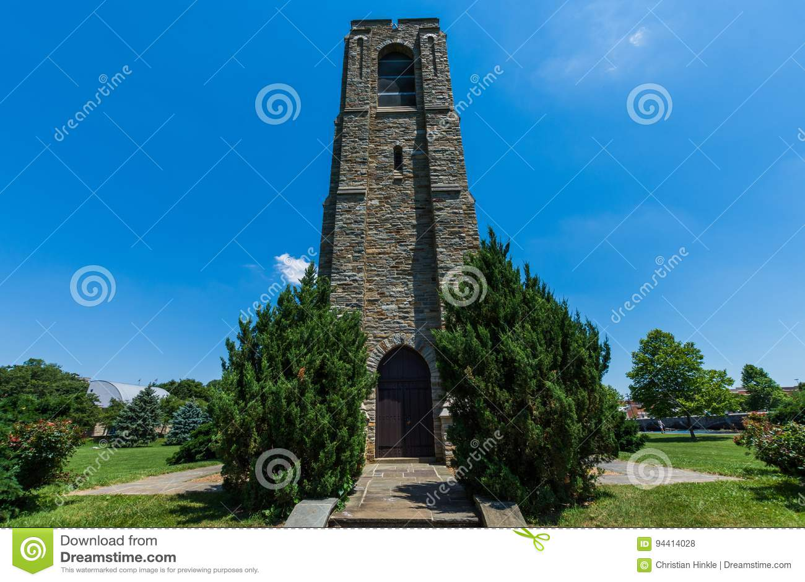 Joseph Dill Baker Memorial Carillion-de Bouw in Frederick, Mary