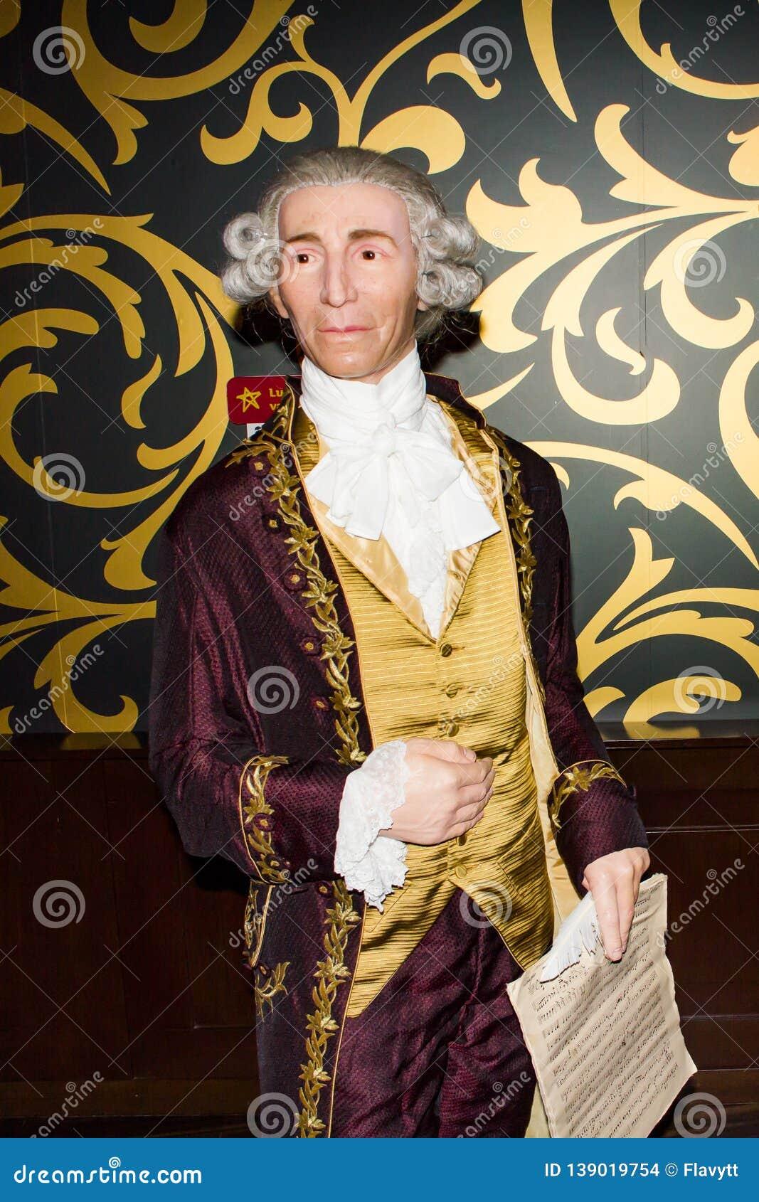 Joseph Haydn-Wachsfigur, Wien Madame-Tussauds