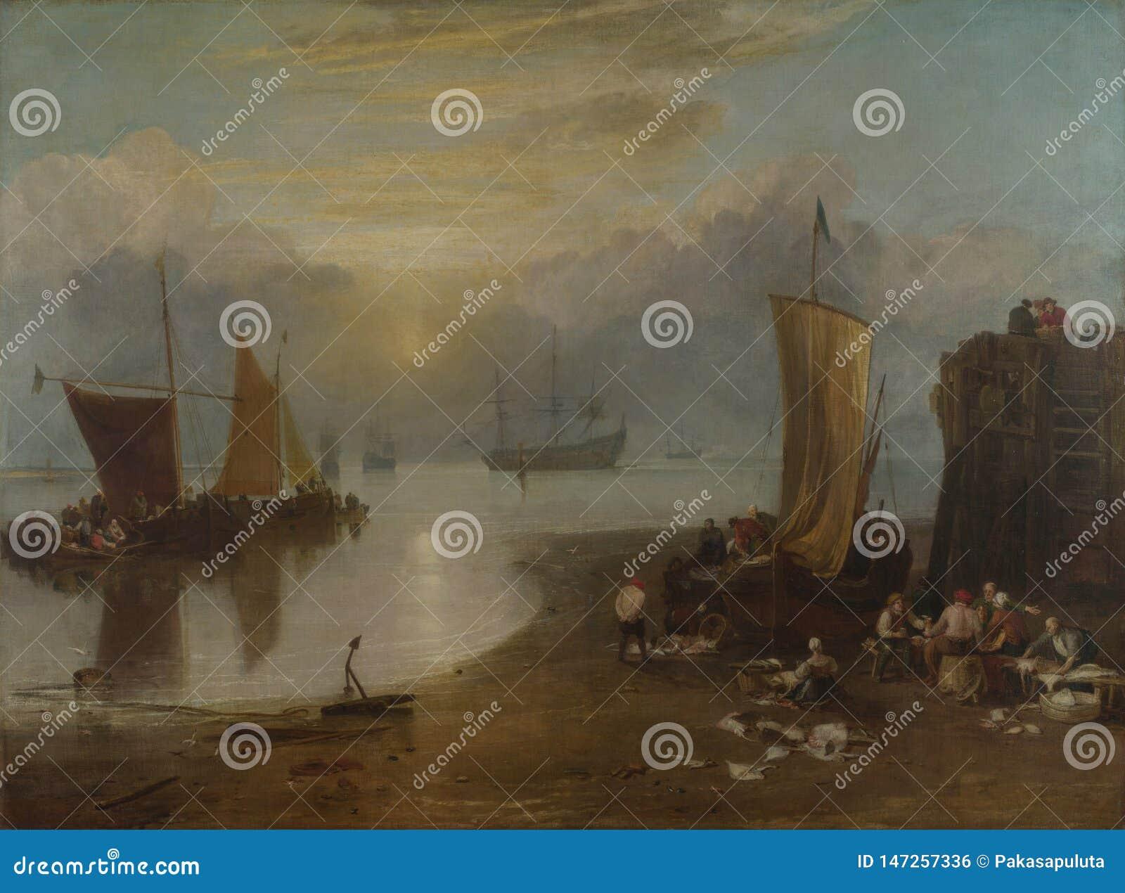 Joseph Mallord William Turner - sol som stiger till och med dunsten