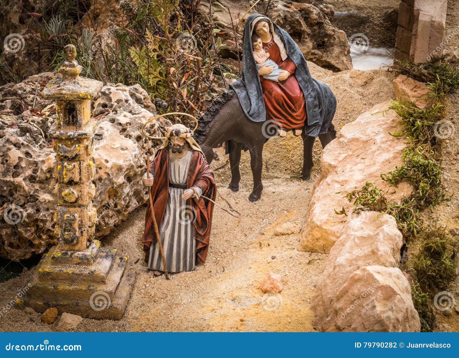 Joseph und Mary