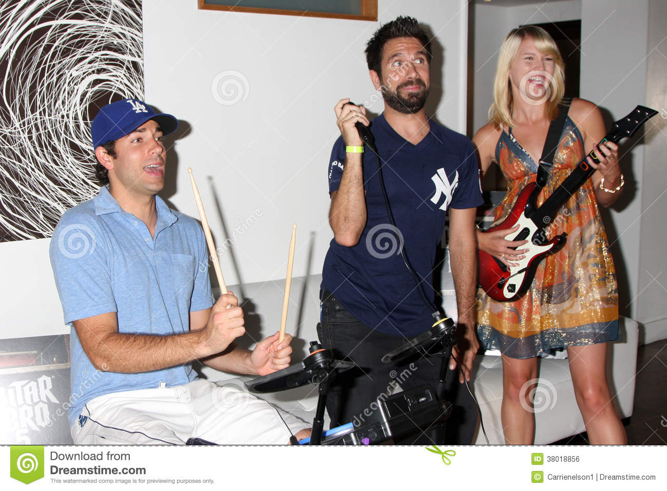 Joshua Gomez Zach Levi Editorial Photo Image Of Zach 38018856 I mean, aside from the fact that i really needed a job? dreamstime com