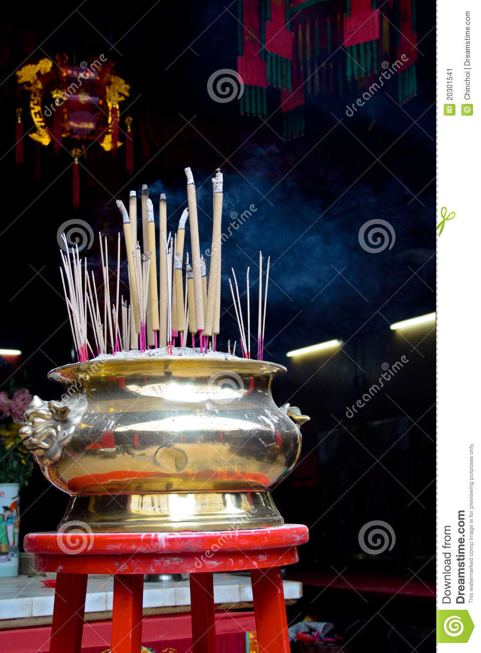 incense in the asian religion just starting